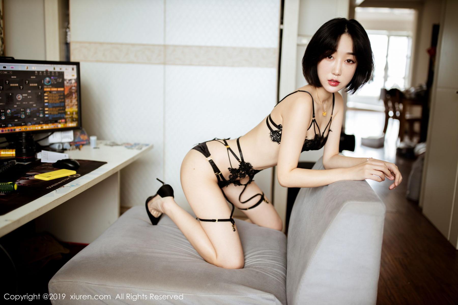 [XiuRen] Vol.1618 Xiao Jiu Yue 3P, Pure, Underwear, Xiao Jiu Yue, Xiuren