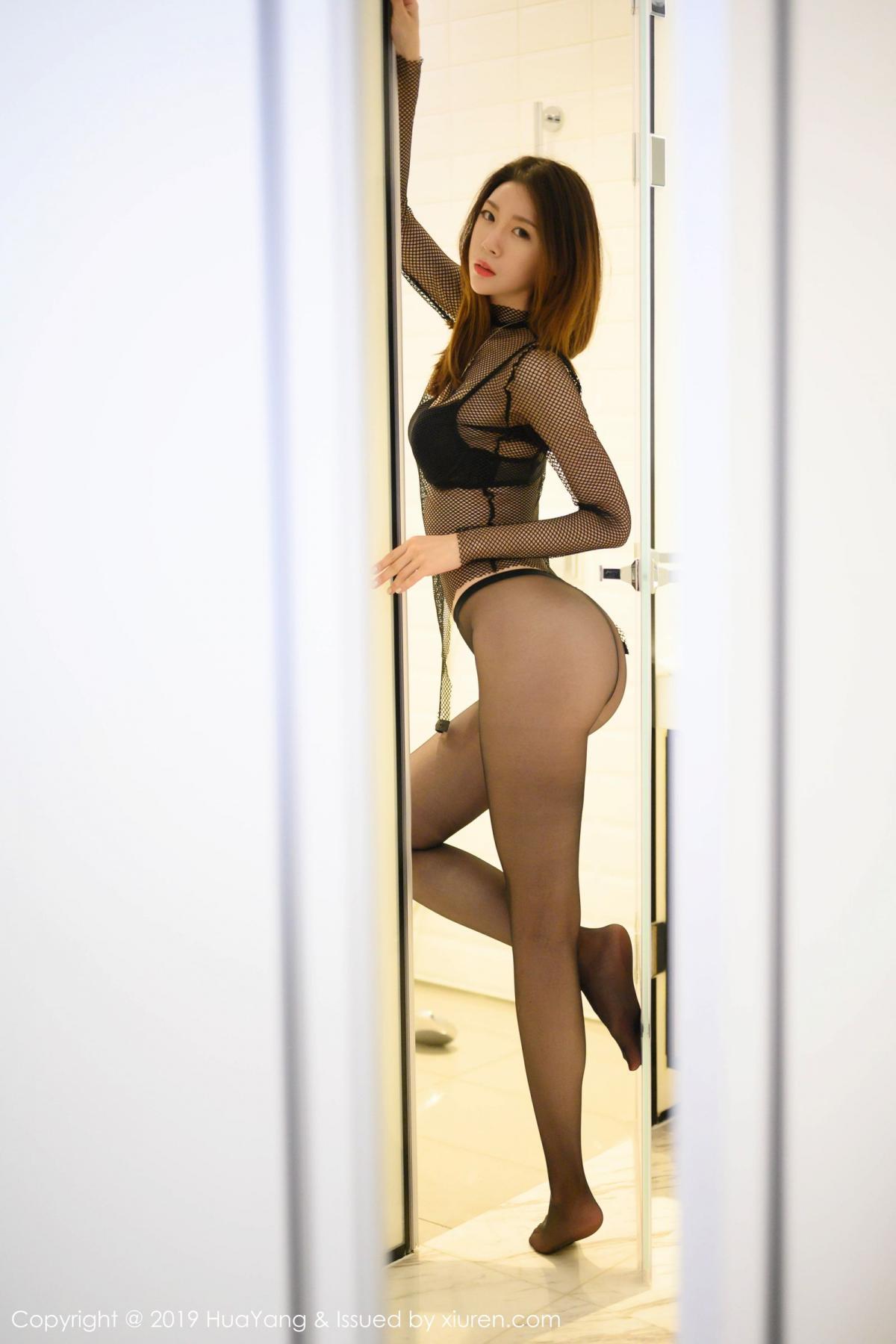[XiuRen] Vol.162 Meng Xin Yue 17P, Black Silk, Meng Xin Yue, Tall, Underwear, Xiuren