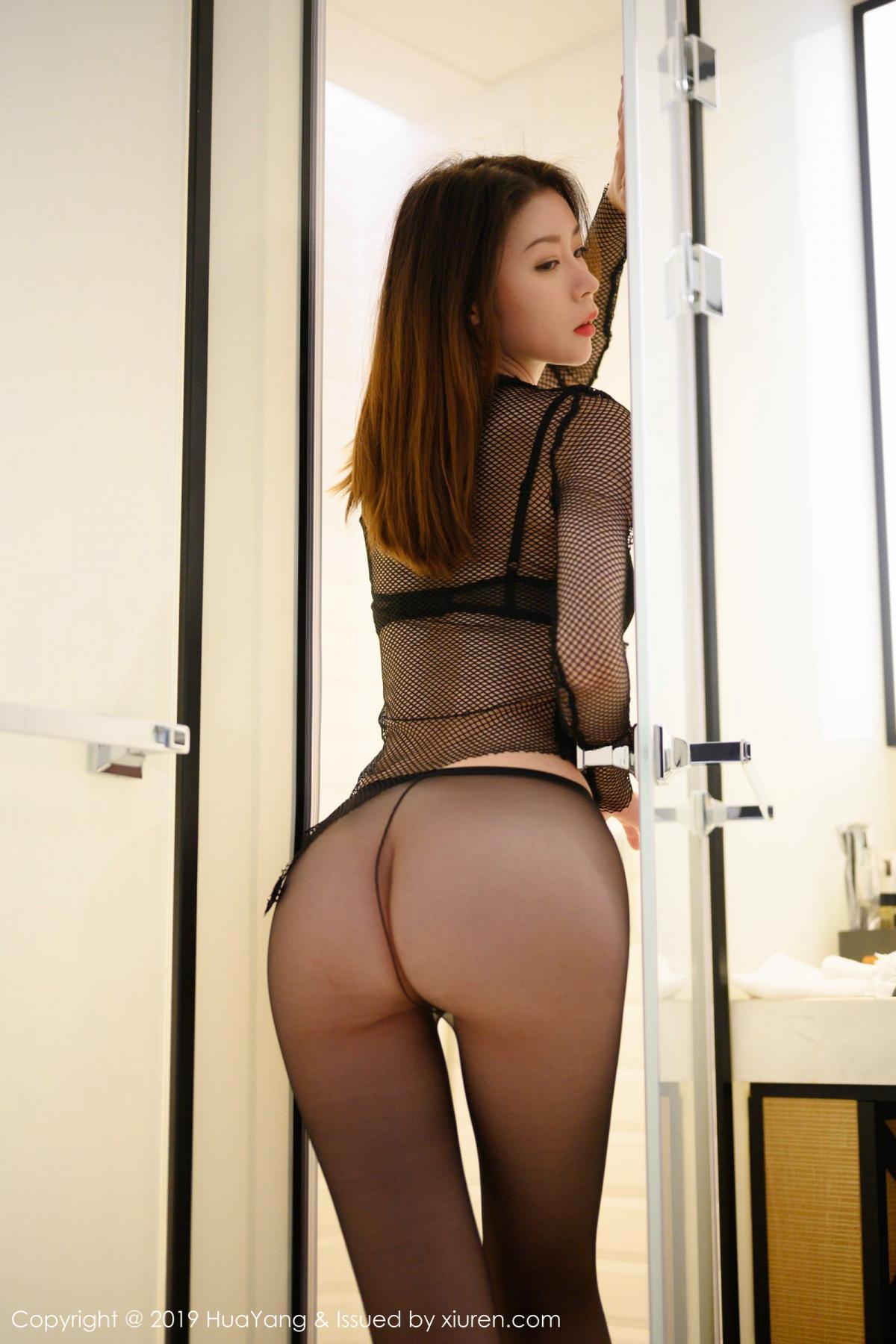 [XiuRen] Vol.162 Meng Xin Yue 34P, Black Silk, Meng Xin Yue, Tall, Underwear, Xiuren