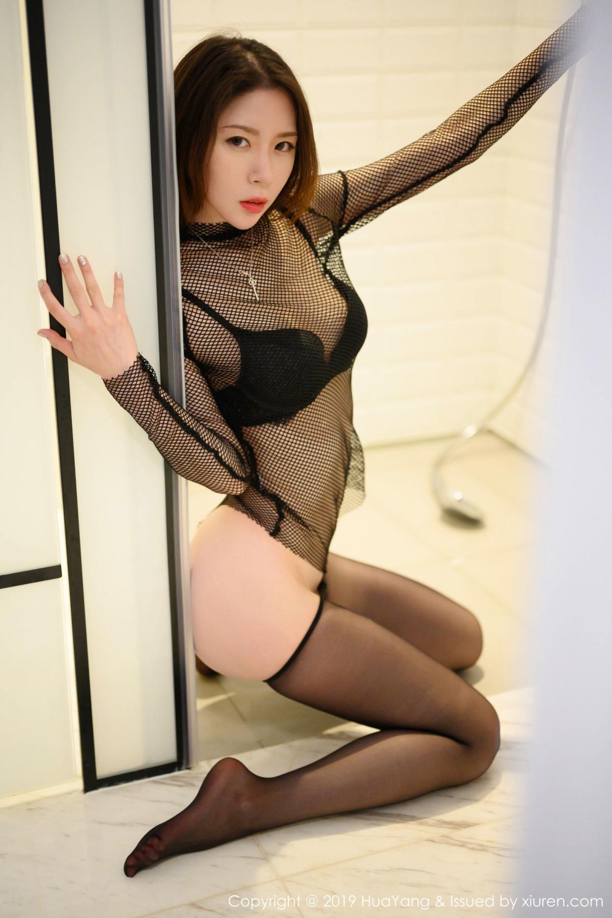 [XiuRen] Vol.162 Meng Xin Yue 55P, Black Silk, Meng Xin Yue, Tall, Underwear, Xiuren