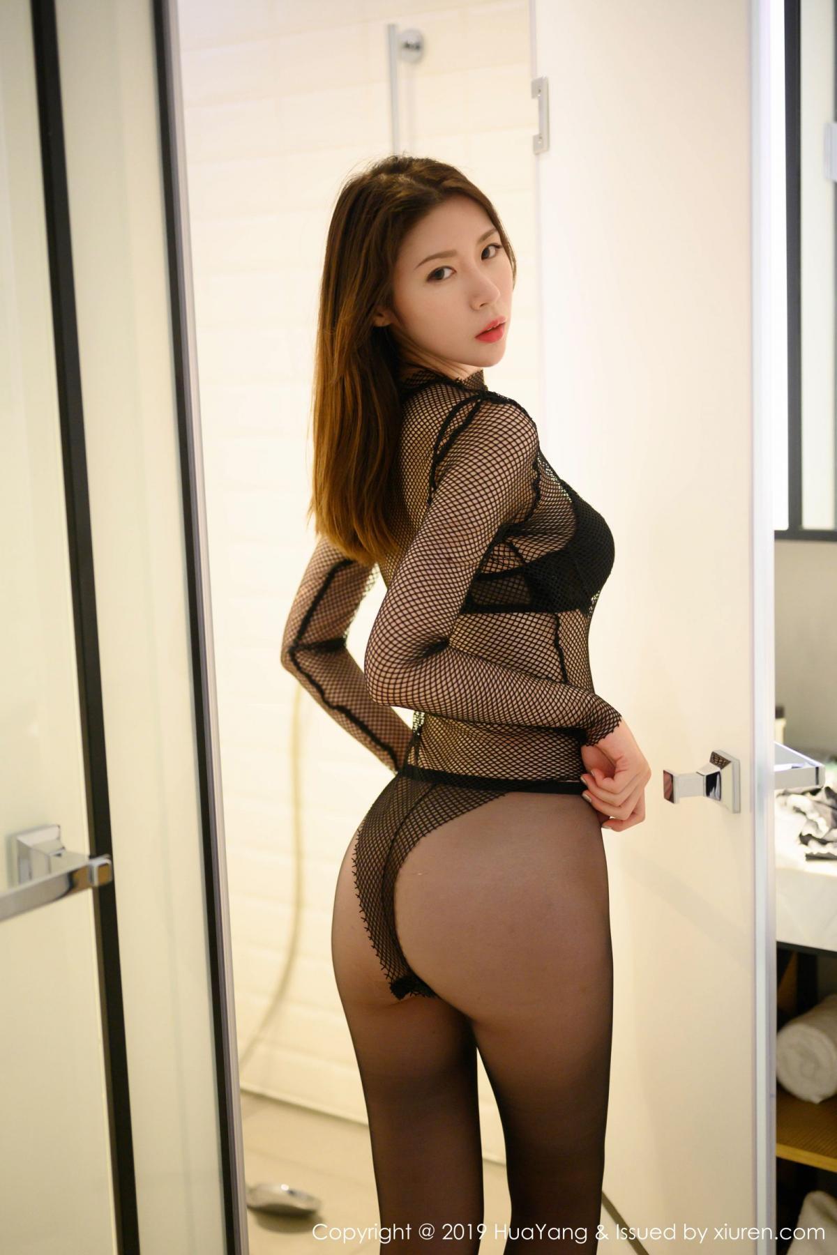 [XiuRen] Vol.162 Meng Xin Yue 5P, Black Silk, Meng Xin Yue, Tall, Underwear, Xiuren