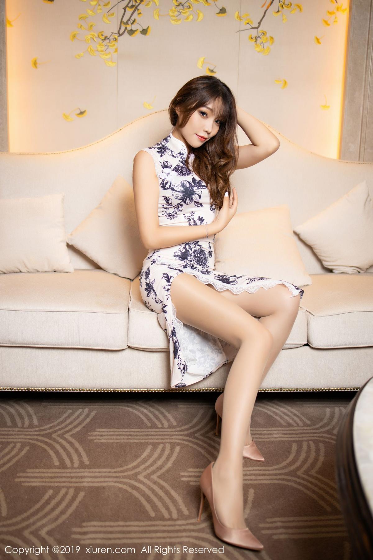 [XiuRen] Vol.1622 Chen Zhi 11P, Chen Zhi, Cheongsam, Underwear, Xiuren