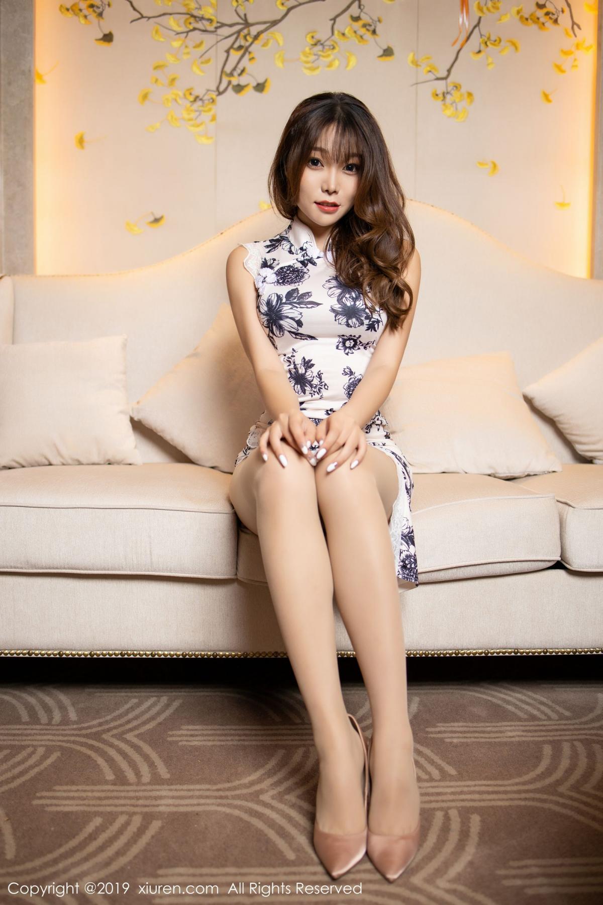 [XiuRen] Vol.1622 Chen Zhi 16P, Chen Zhi, Cheongsam, Underwear, Xiuren