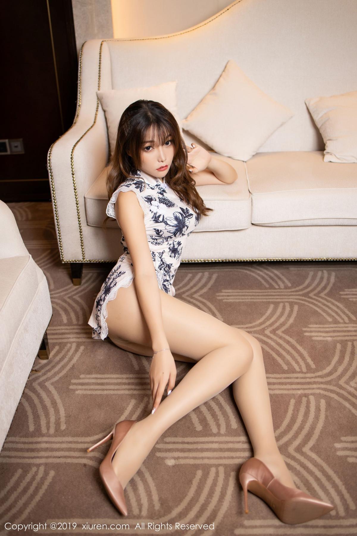 [XiuRen] Vol.1622 Chen Zhi 28P, Chen Zhi, Cheongsam, Underwear, Xiuren