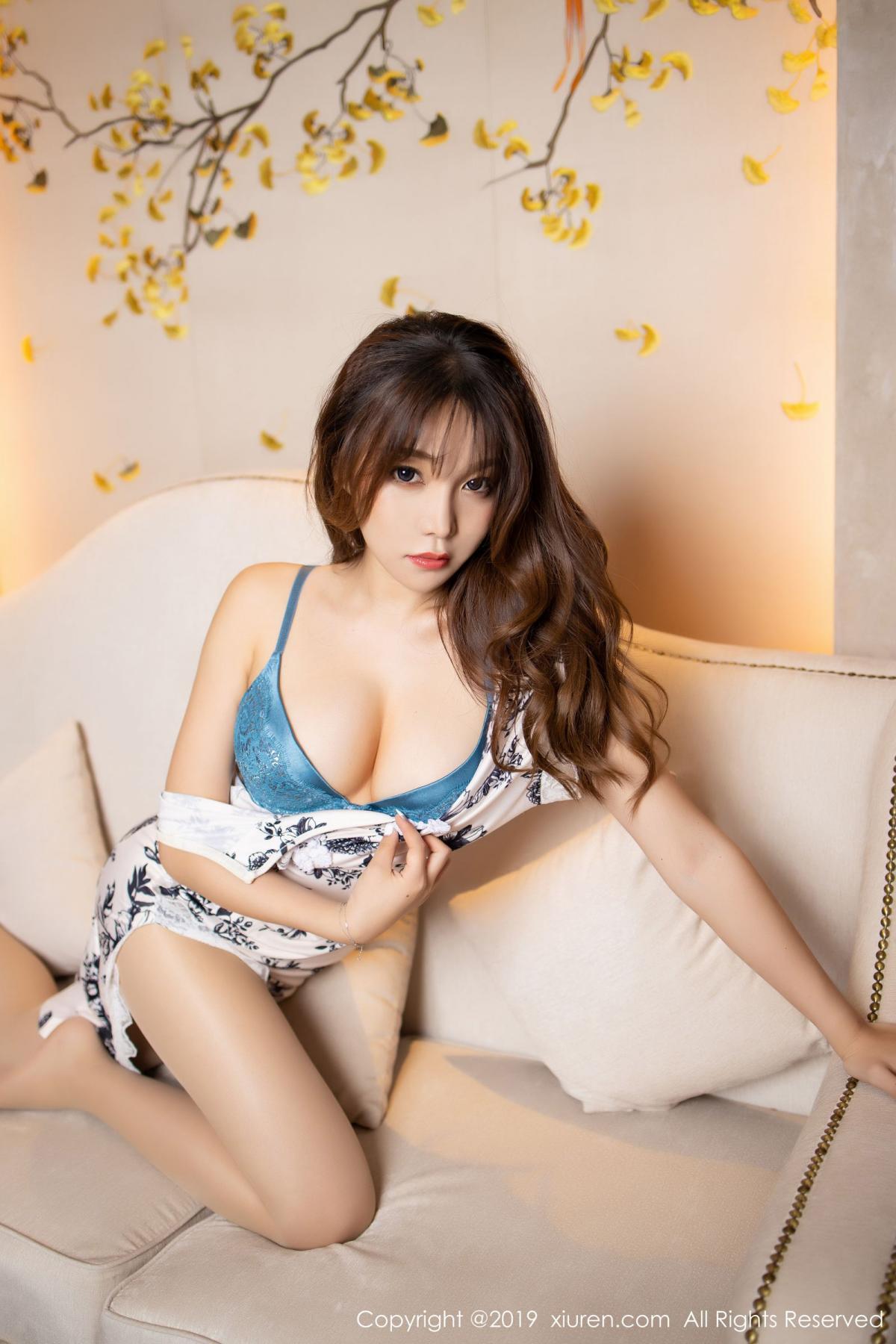 [XiuRen] Vol.1622 Chen Zhi 4P, Chen Zhi, Cheongsam, Underwear, Xiuren