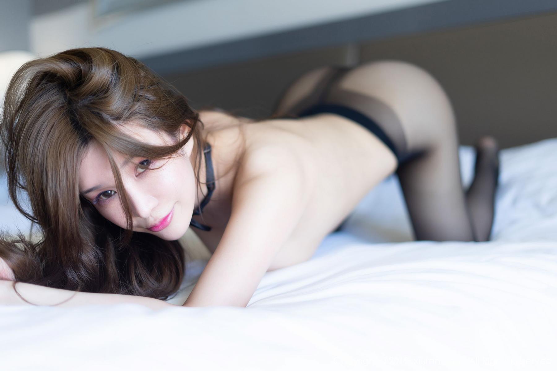 [XiuRen] Vol.1623 Chun Xiao Xi 39P, Black Silk, Chun Xiao Xi, Underwear, Xiuren
