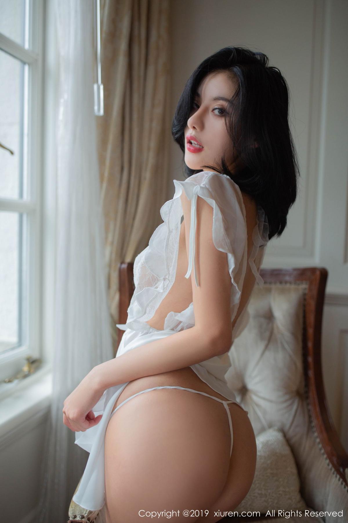 [XiuRen] Vol.1624 Jiu Shi A Zhu 17P, Jiu Shi A Zhu, Underwear, Xiuren