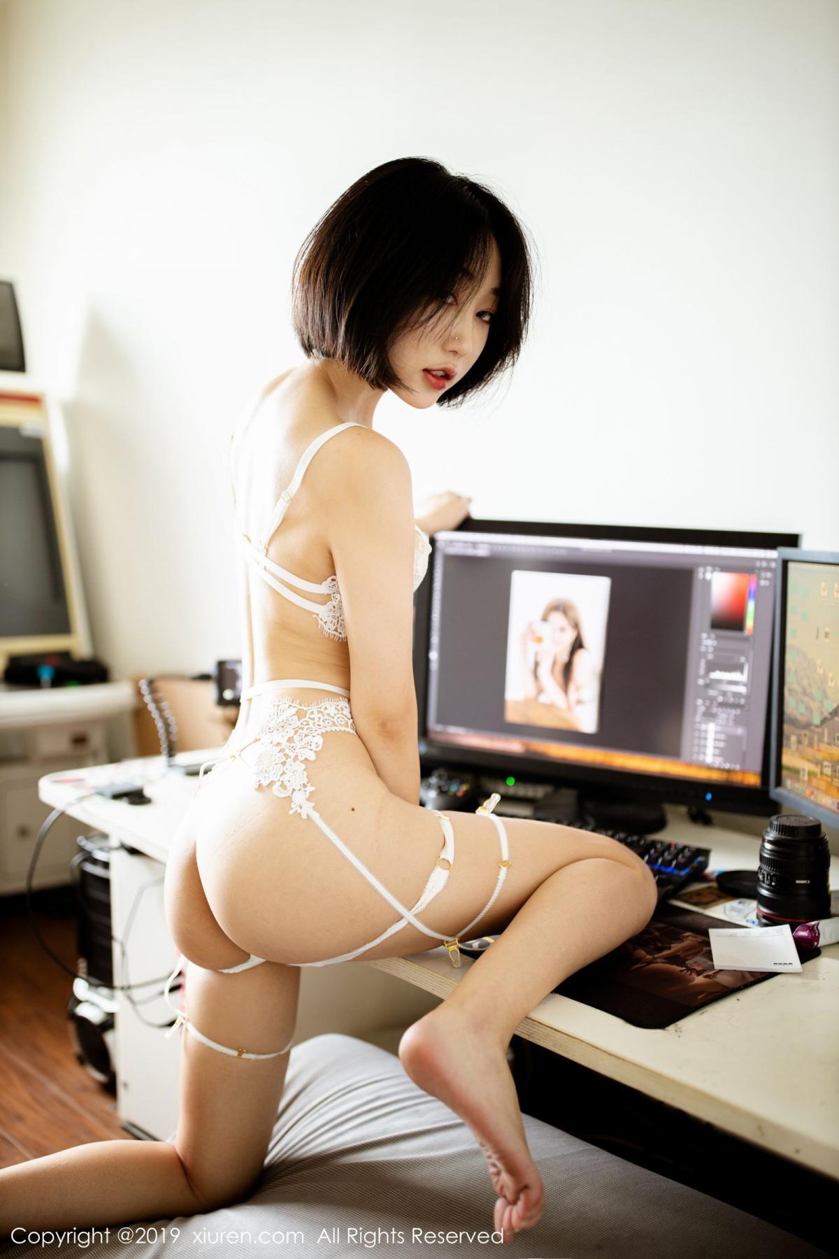 [XiuRen] Vol.1626 Xiao Jiu Yue 12P, Pure, Underwear, Xiao Jiu Yue, Xiuren