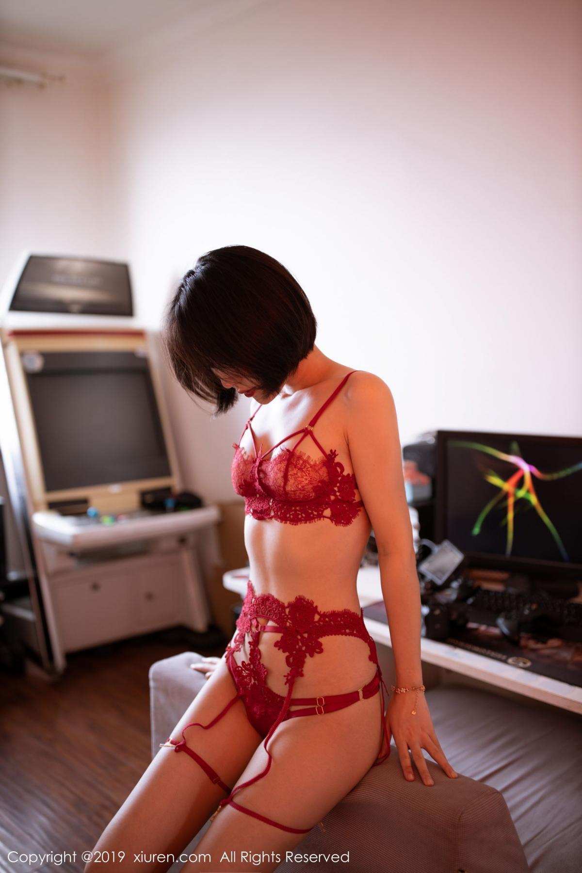 [XiuRen] Vol.1626 Xiao Jiu Yue 28P, Pure, Underwear, Xiao Jiu Yue, Xiuren