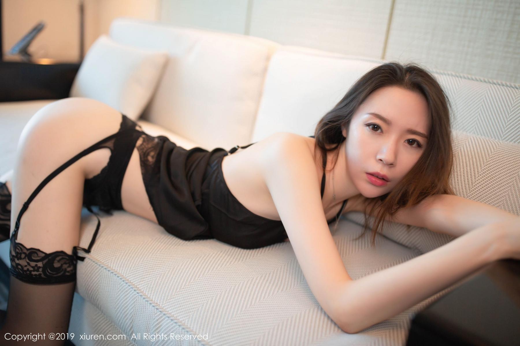[XiuRen] Vol.1628 Meng Xin Yue 18P, Black Silk, Meng Xin Yue, Xiuren