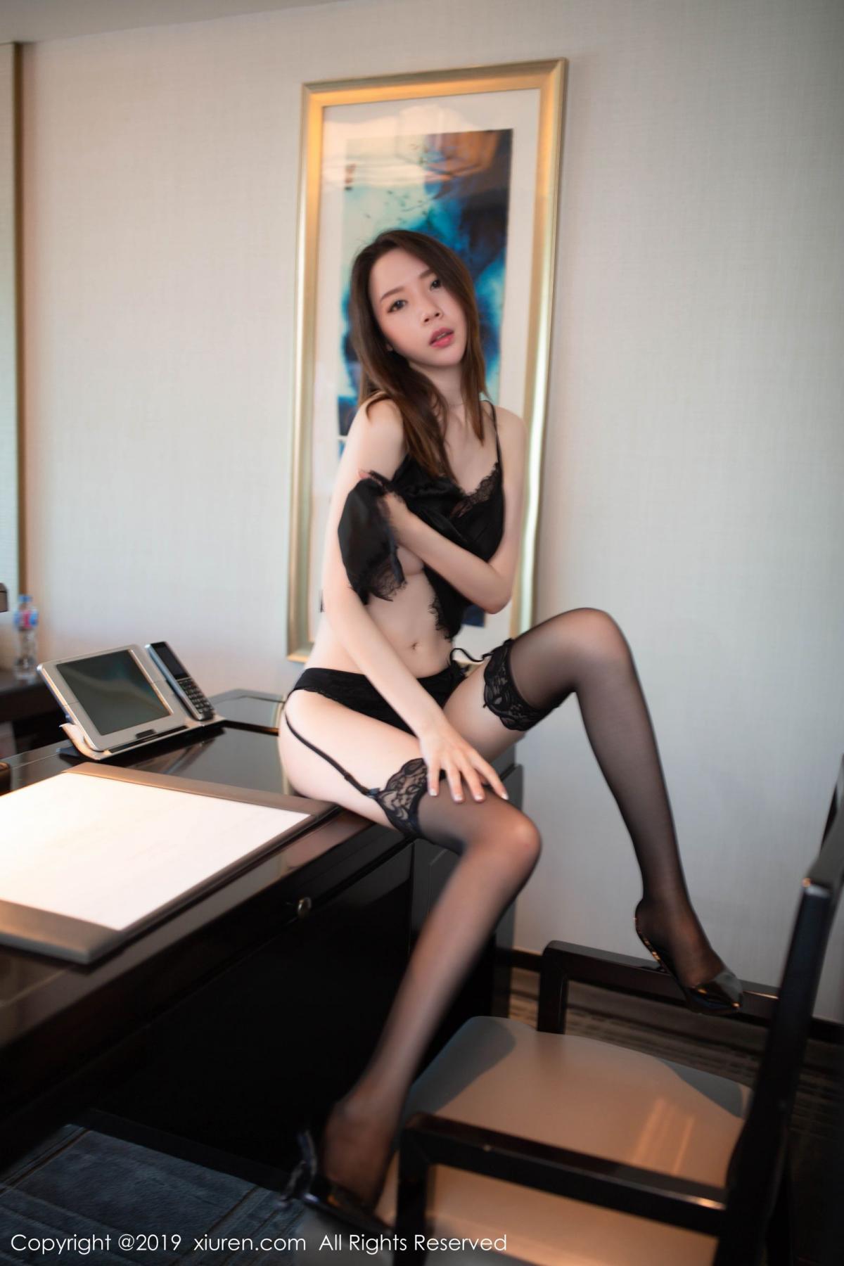 [XiuRen] Vol.1628 Meng Xin Yue 37P, Black Silk, Meng Xin Yue, Xiuren