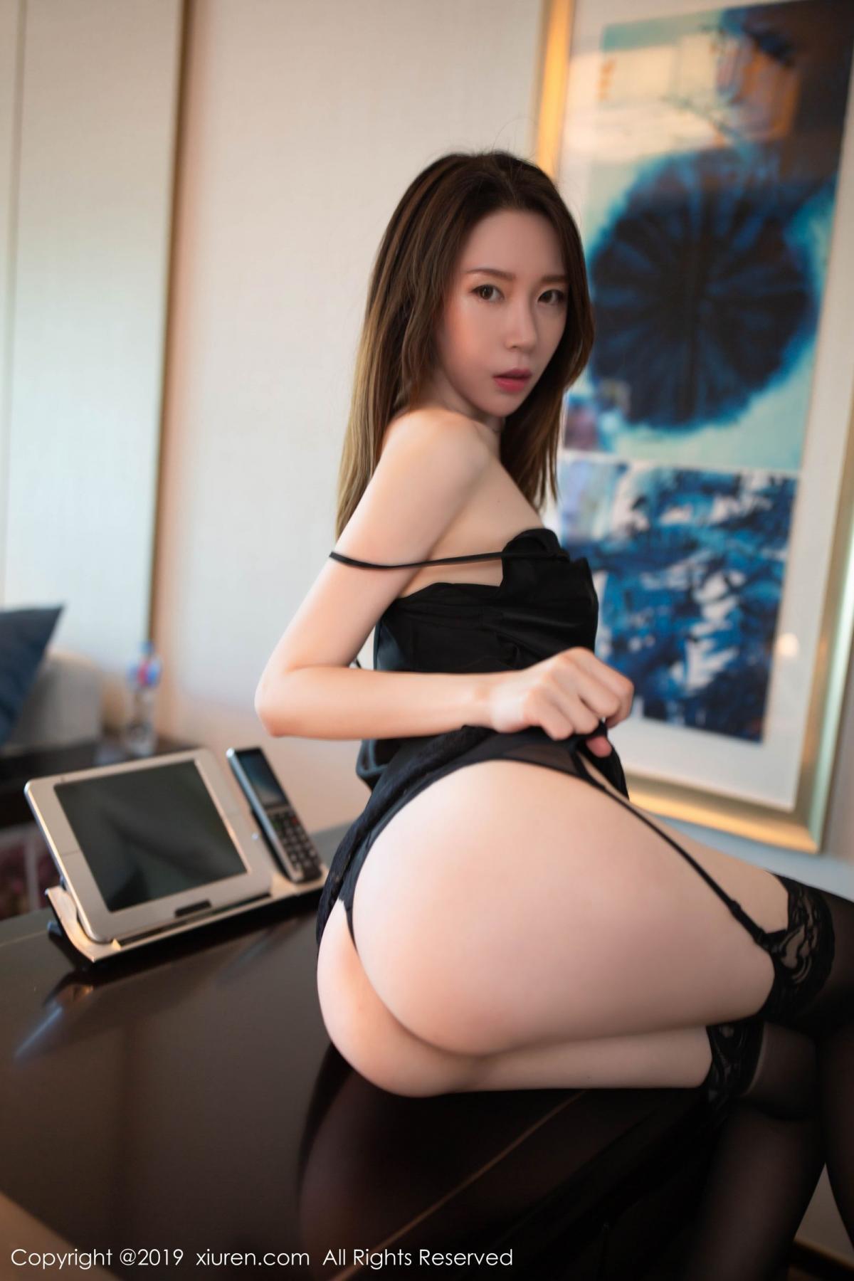 [XiuRen] Vol.1628 Meng Xin Yue 39P, Black Silk, Meng Xin Yue, Xiuren