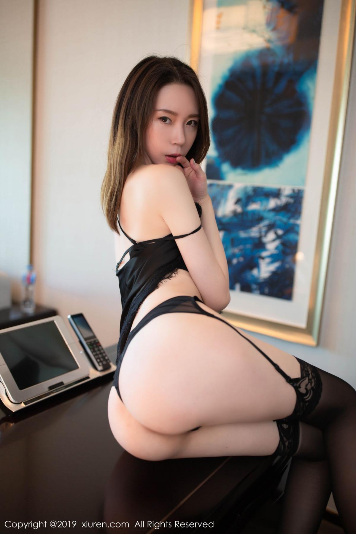 [XiuRen] Vol.1628 Meng Xin Yue 41P, Black Silk, Meng Xin Yue, Xiuren