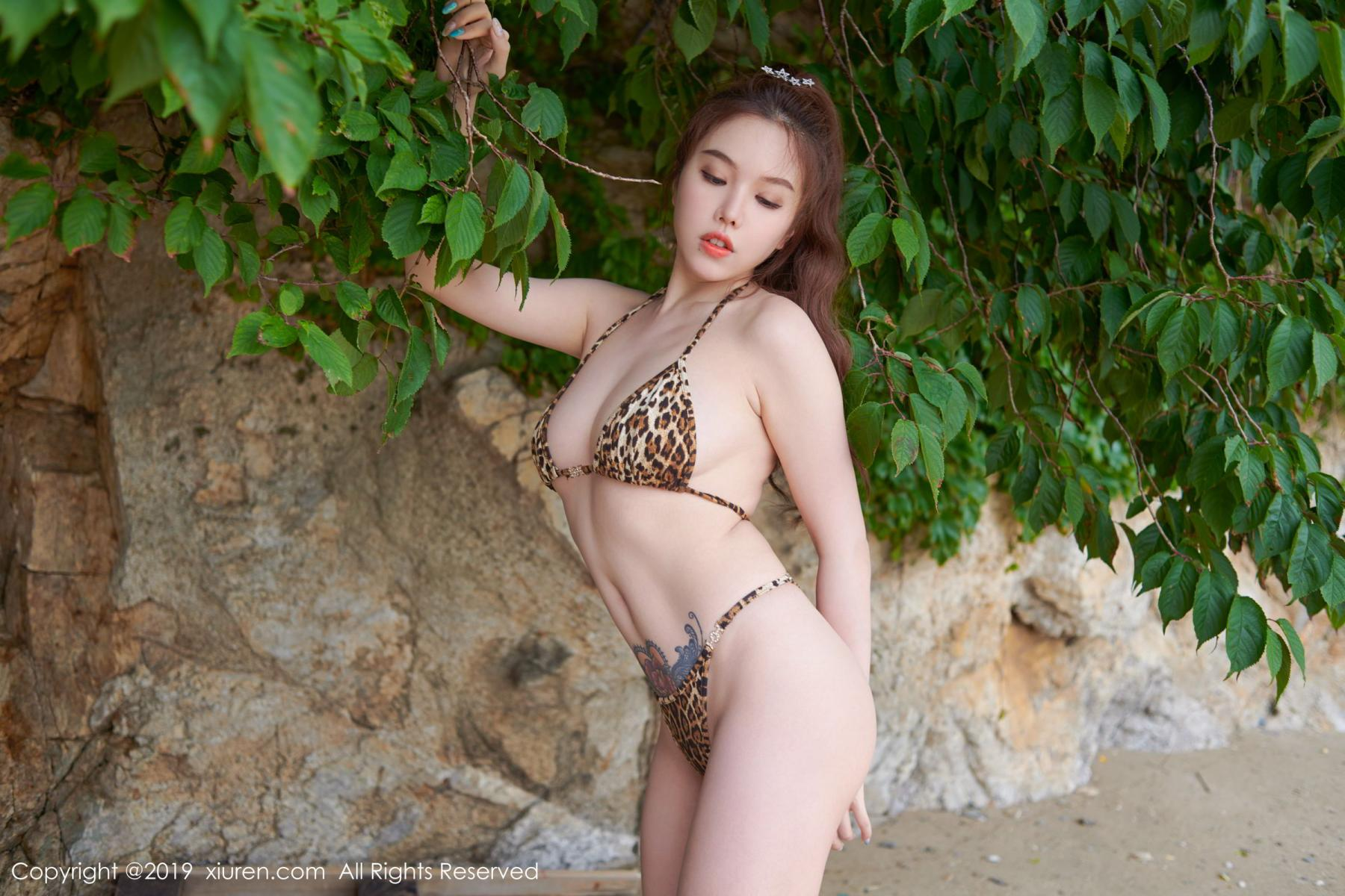 [XiuRen] Vol.1630 Huang Le Ran 30P, Black Silk, Huang Le Ran, Underwear, Xiuren