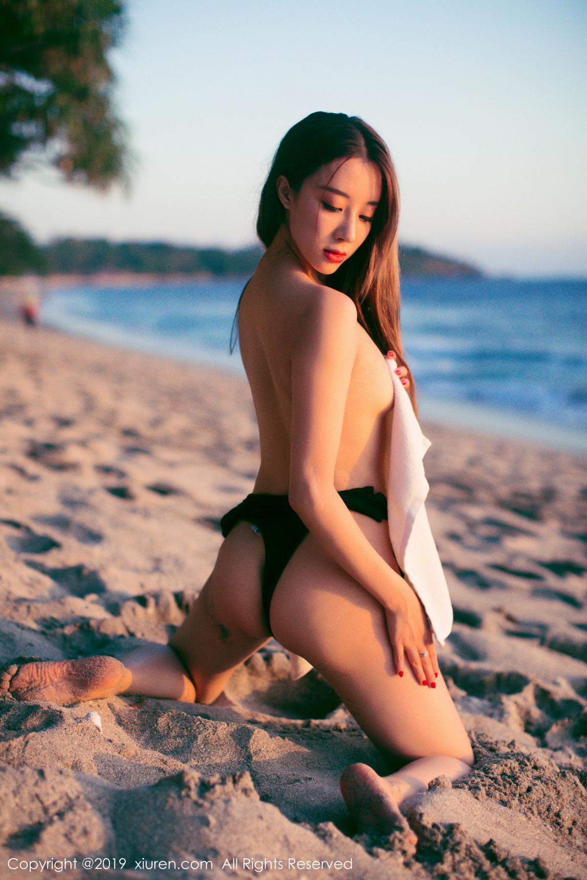 [XiuRen] Vol.1635 Duan Xiao Hui 48P, Beach, Bikini, Duan Xiao Hui, Xiuren