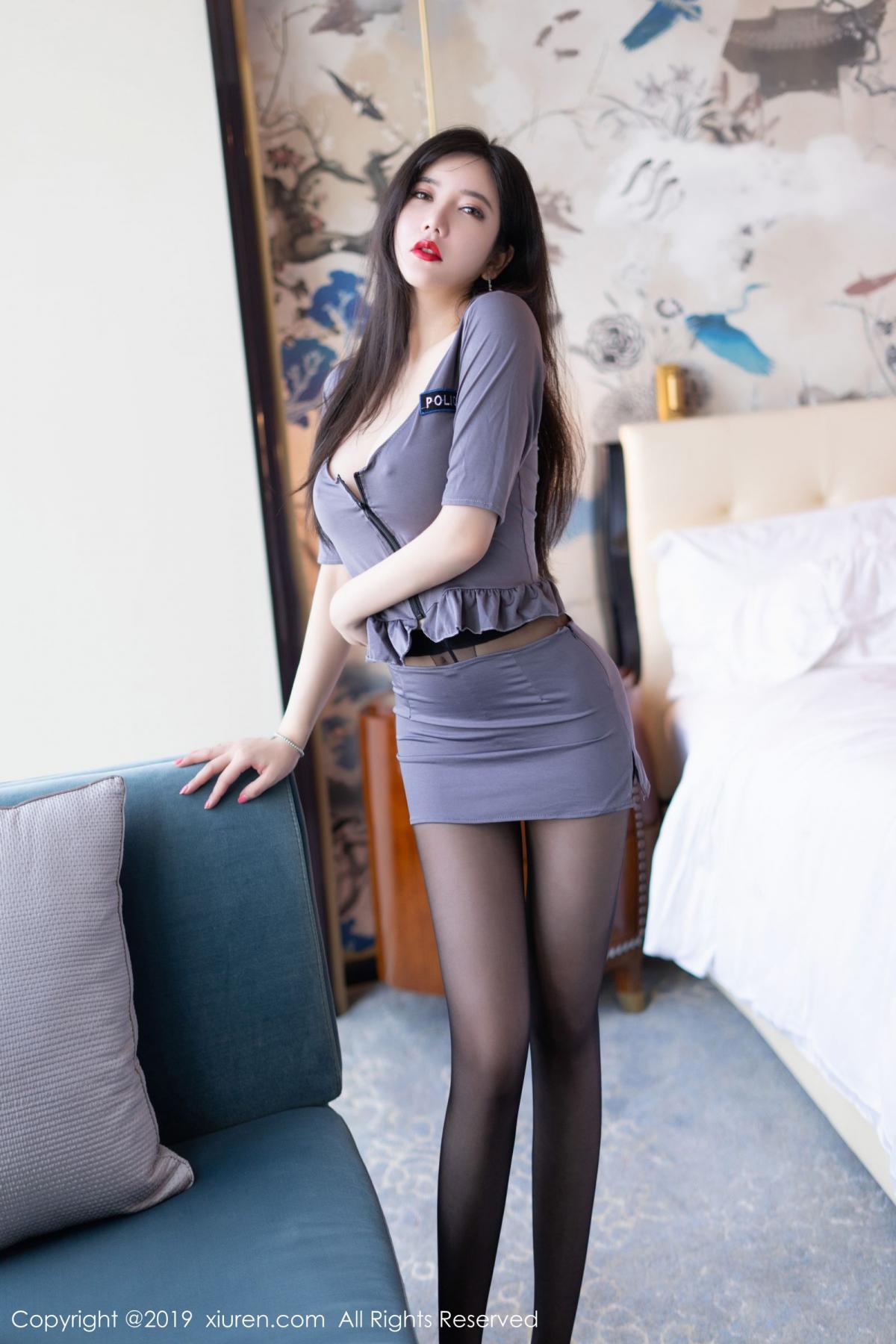 [XiuRen] Vol.1636 Li Yan Xi 6P, Li Yan Xi, Policewoman, Xiuren