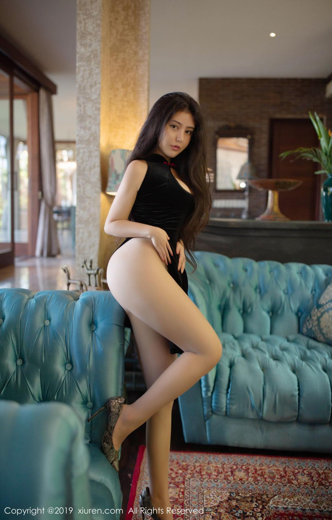 [XiuRen] Vol.1638 Ma Lu Na 14P, Big Booty, Cheongsam, Ma Lu Na, Xiuren