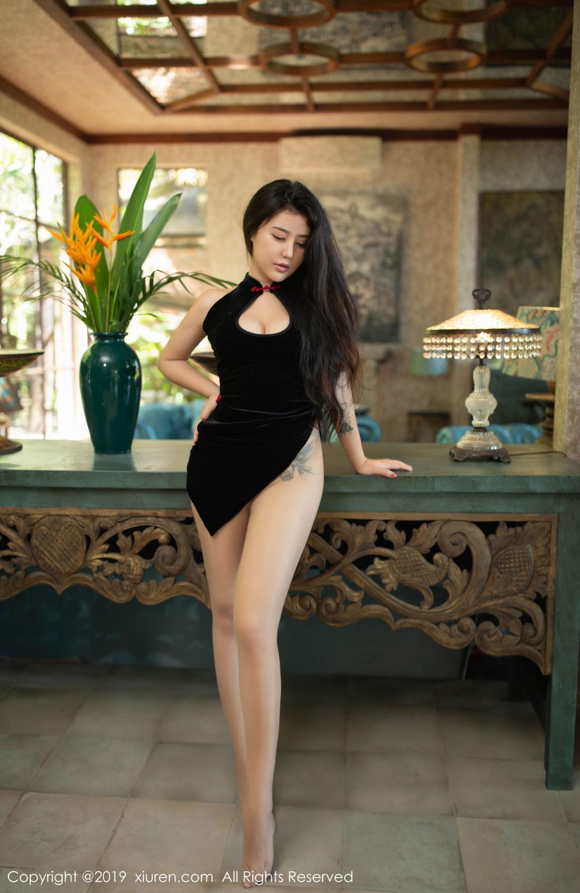 [XiuRen] Vol.1638 Ma Lu Na 28P, Big Booty, Cheongsam, Ma Lu Na, Xiuren