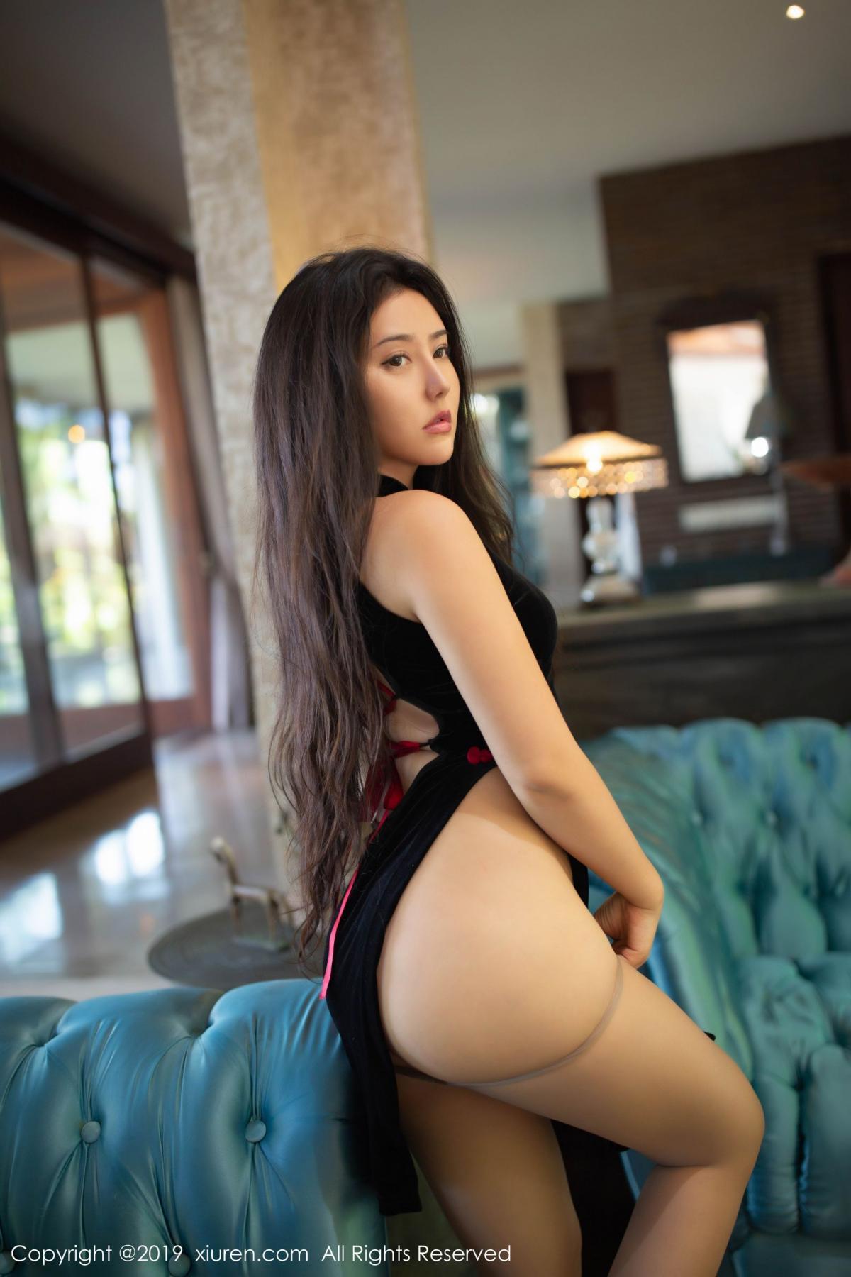 [XiuRen] Vol.1638 Ma Lu Na 2P, Big Booty, Cheongsam, Ma Lu Na, Xiuren
