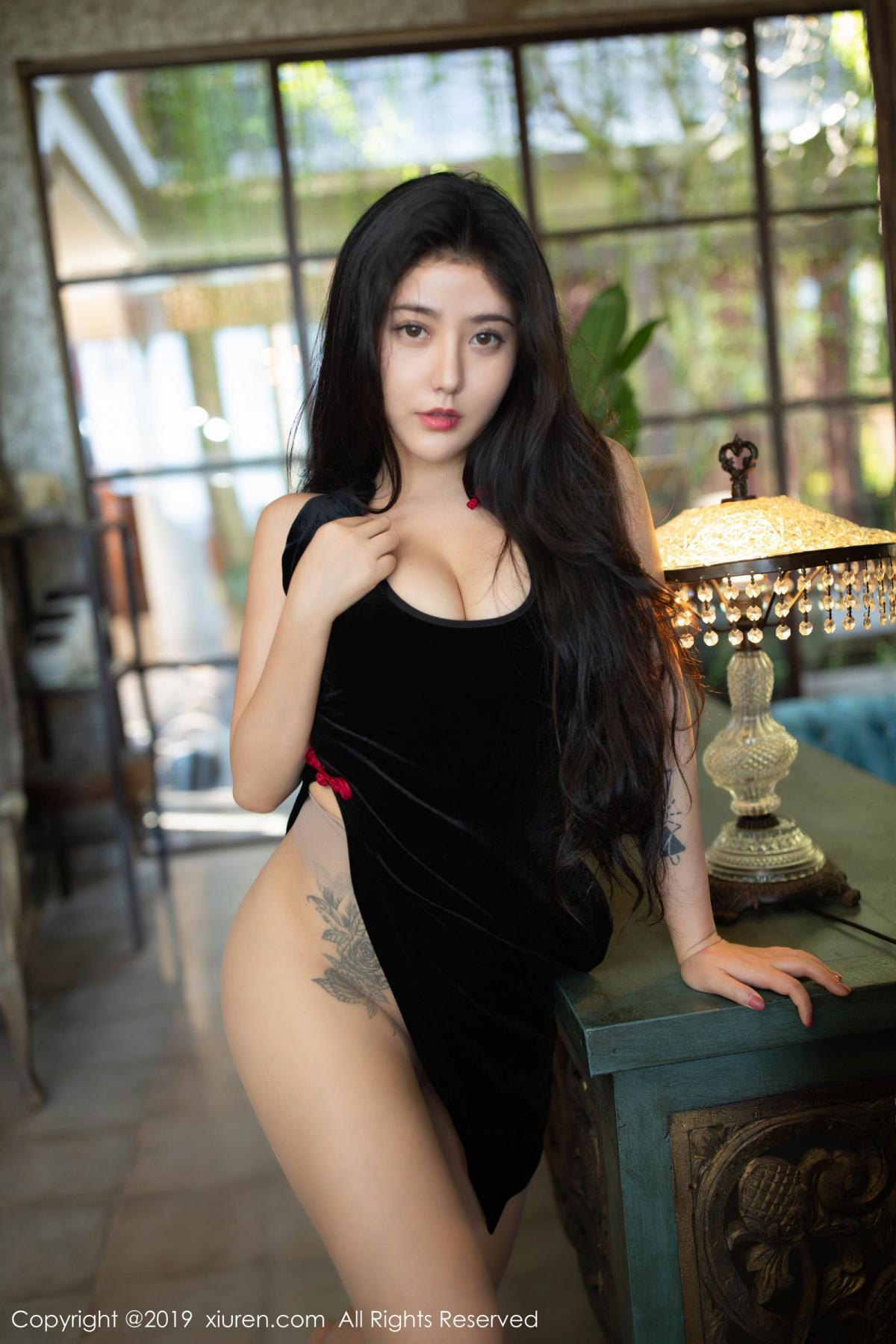 [XiuRen] Vol.1638 Ma Lu Na 35P, Big Booty, Cheongsam, Ma Lu Na, Xiuren