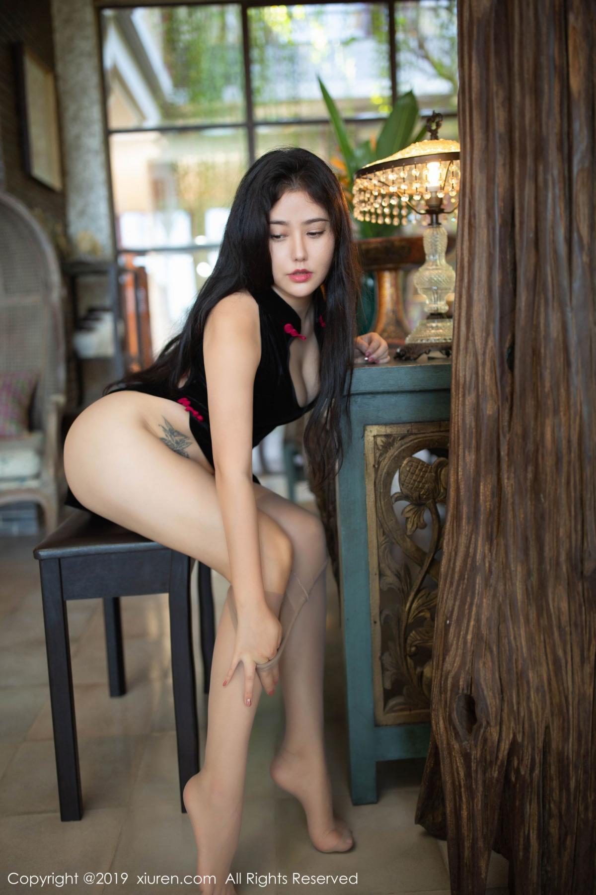 [XiuRen] Vol.1638 Ma Lu Na 43P, Big Booty, Cheongsam, Ma Lu Na, Xiuren