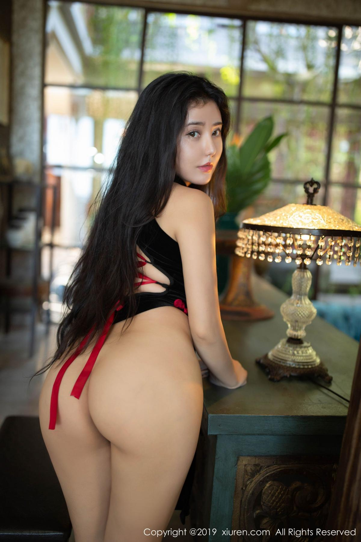 [XiuRen] Vol.1638 Ma Lu Na 47P, Big Booty, Cheongsam, Ma Lu Na, Xiuren