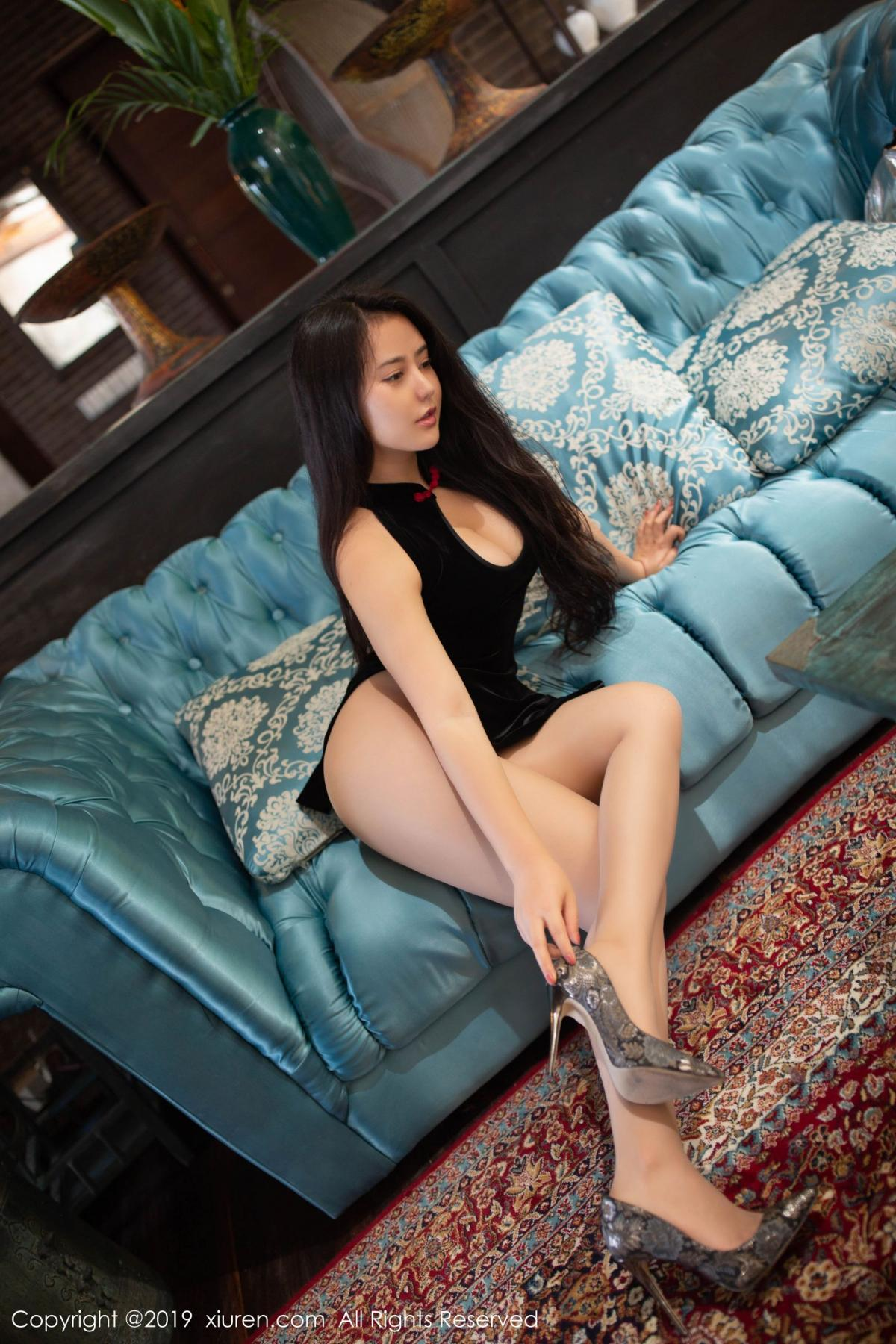 [XiuRen] Vol.1638 Ma Lu Na 8P, Big Booty, Cheongsam, Ma Lu Na, Xiuren