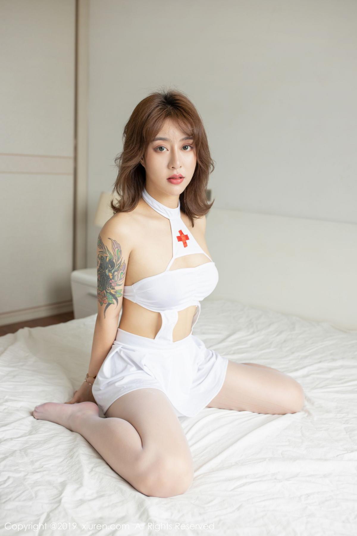 [XiuRen] Vol.1639 Nuo Mi Nm 16P, Nuo Mi NM, Nurse, Xiuren