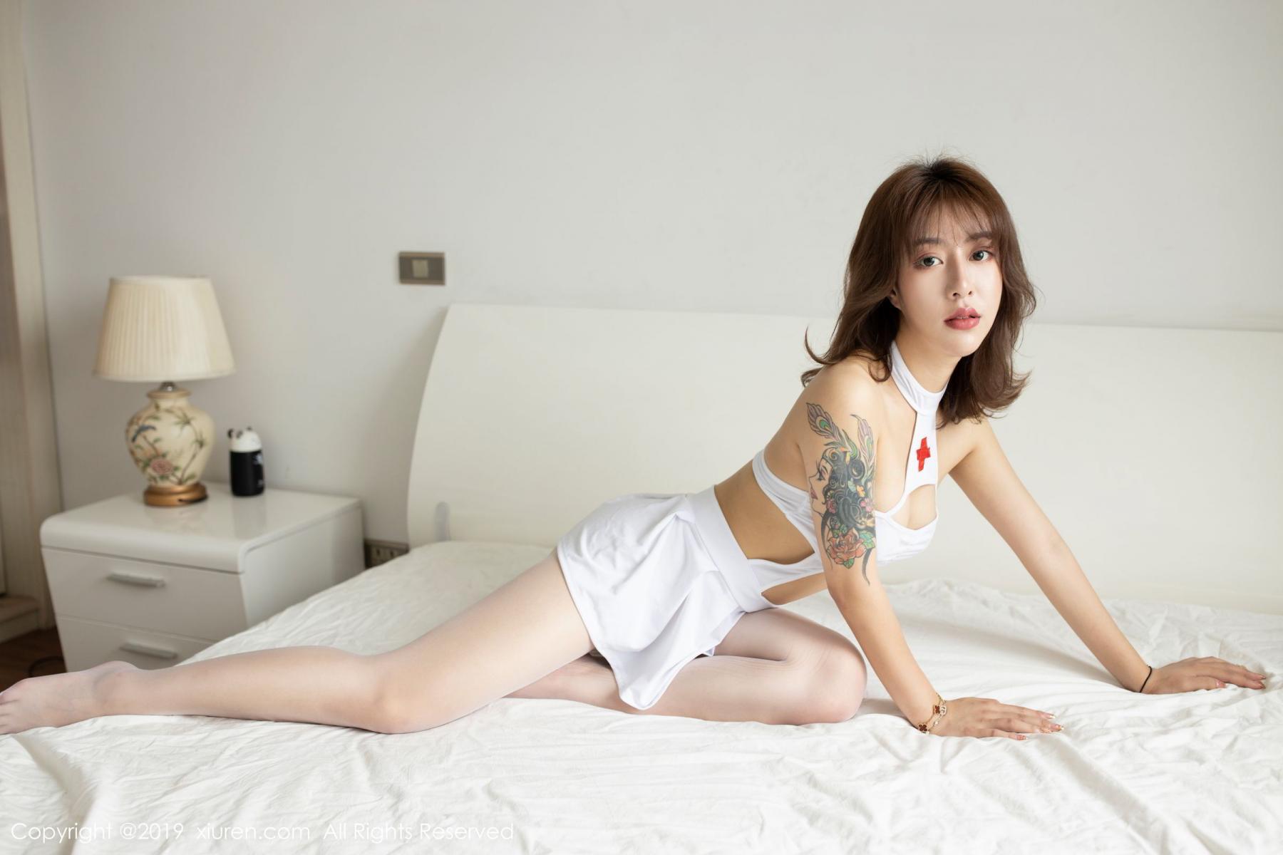 [XiuRen] Vol.1639 Nuo Mi Nm 3P, Nuo Mi NM, Nurse, Xiuren