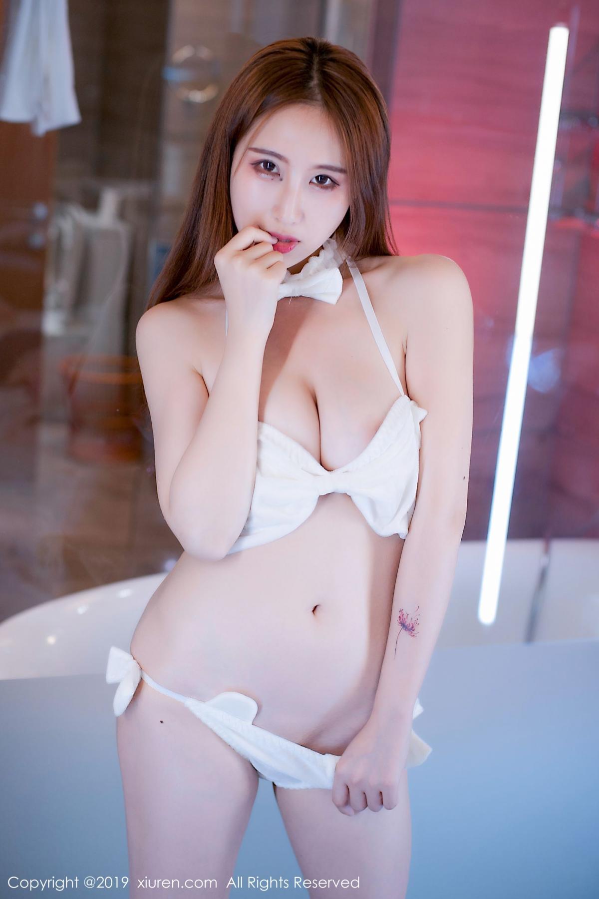 [XiuRen] Vol.1643 Yue Yin Tong 7P, Underwear, Xiuren, Yue Yin Tong