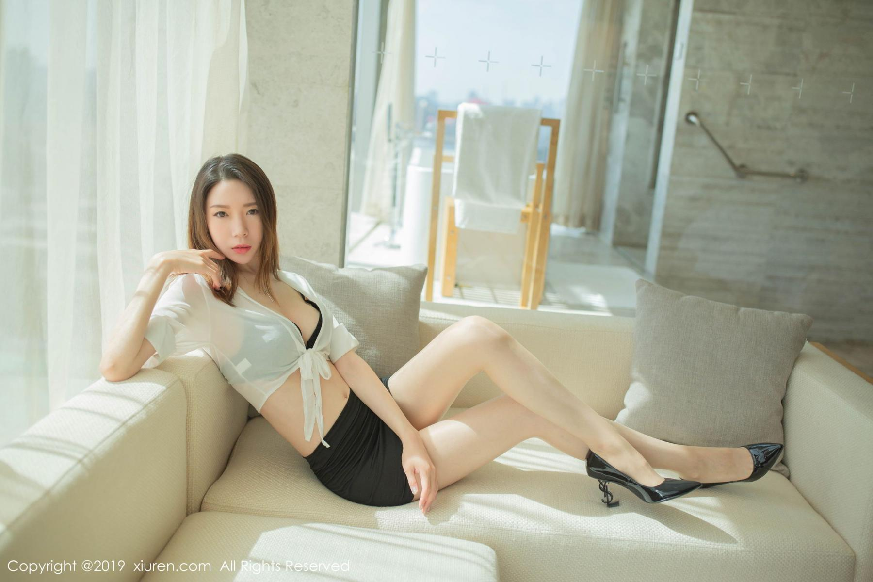 [XiuRen] Vol.1645 Meng Xin Yue 12P, Meng Xin Yue, Underwear, Uniform, Xiuren
