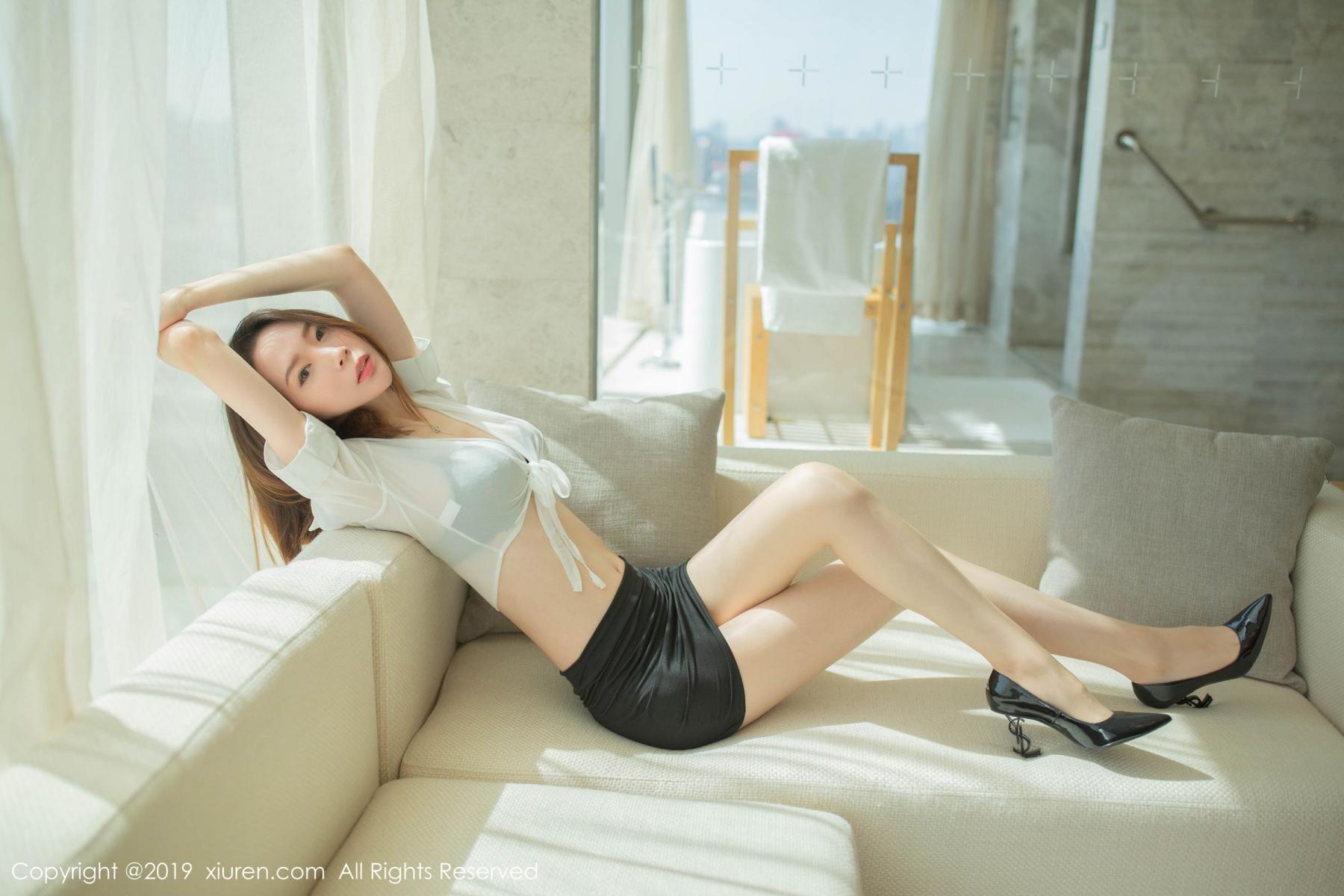 [XiuRen] Vol.1645 Meng Xin Yue 13P, Meng Xin Yue, Underwear, Uniform, Xiuren
