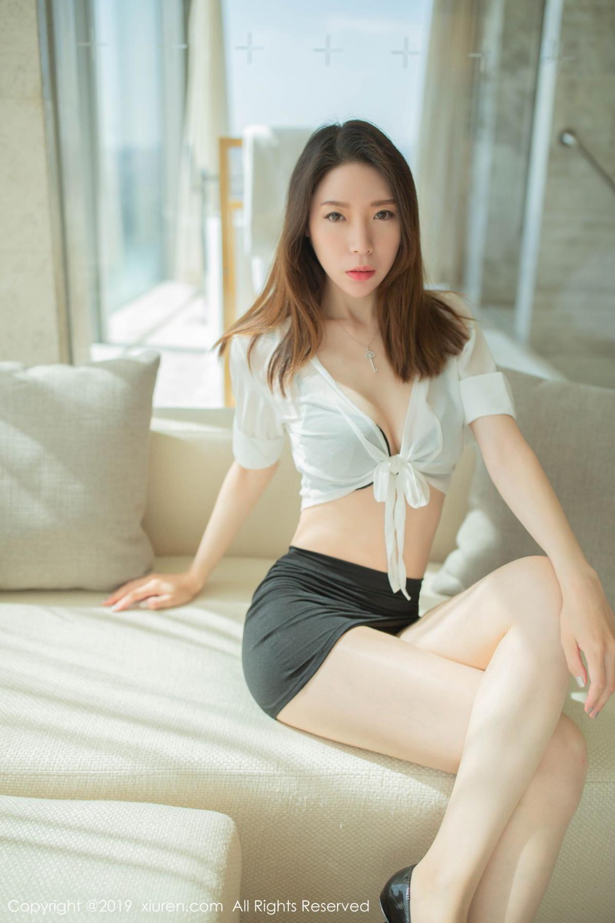 [XiuRen] Vol.1645 Meng Xin Yue 15P, Meng Xin Yue, Underwear, Uniform, Xiuren