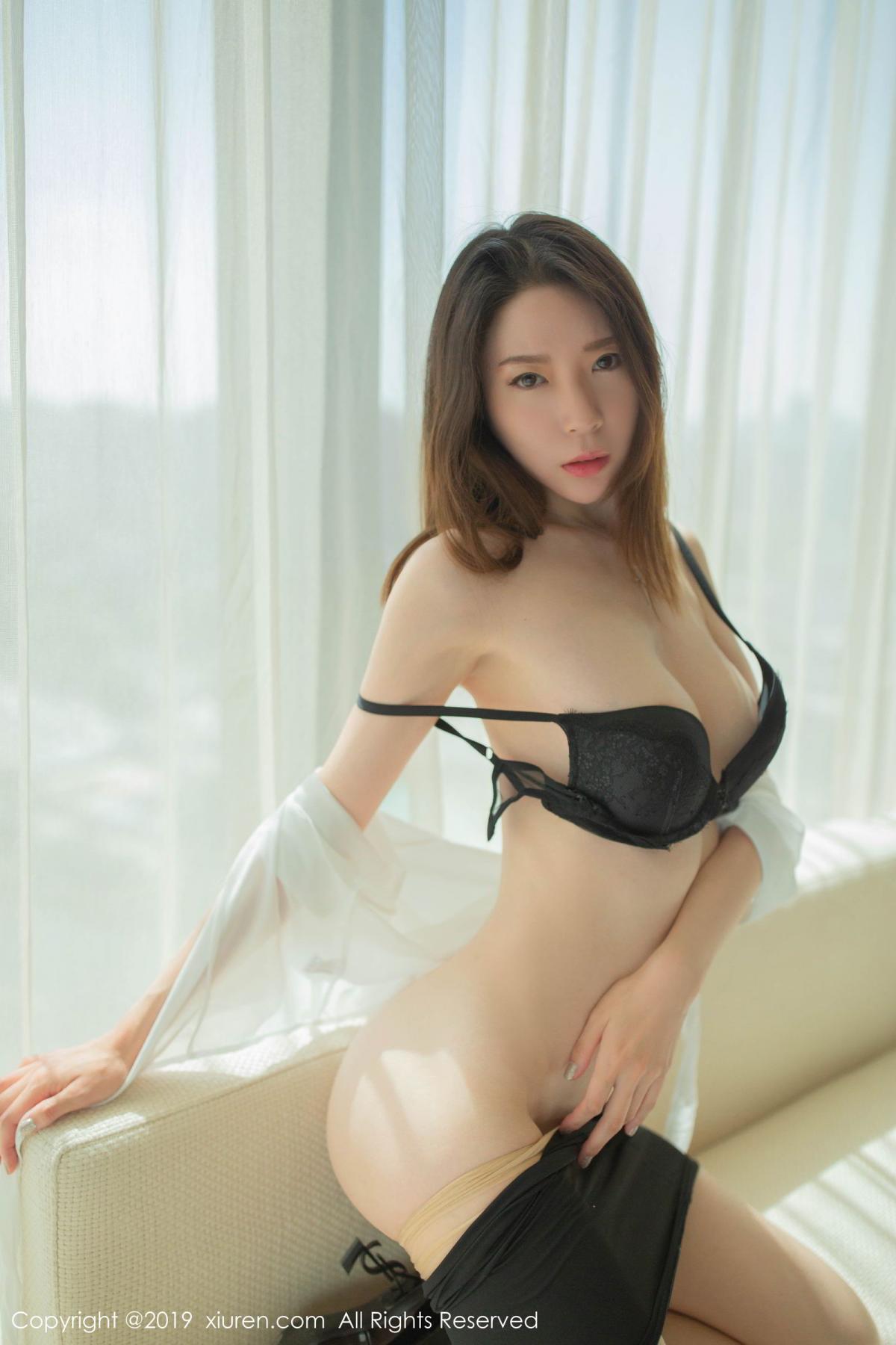 [XiuRen] Vol.1645 Meng Xin Yue 19P, Meng Xin Yue, Underwear, Uniform, Xiuren
