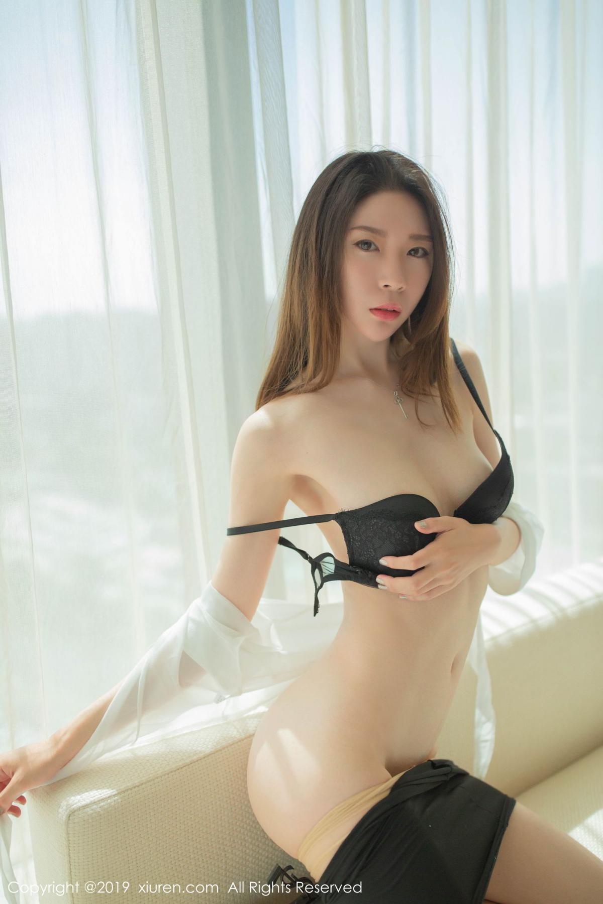 [XiuRen] Vol.1645 Meng Xin Yue 49P, Meng Xin Yue, Underwear, Uniform, Xiuren