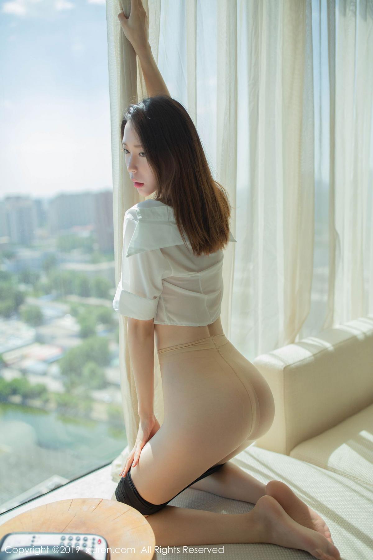 [XiuRen] Vol.1645 Meng Xin Yue 4P, Meng Xin Yue, Underwear, Uniform, Xiuren