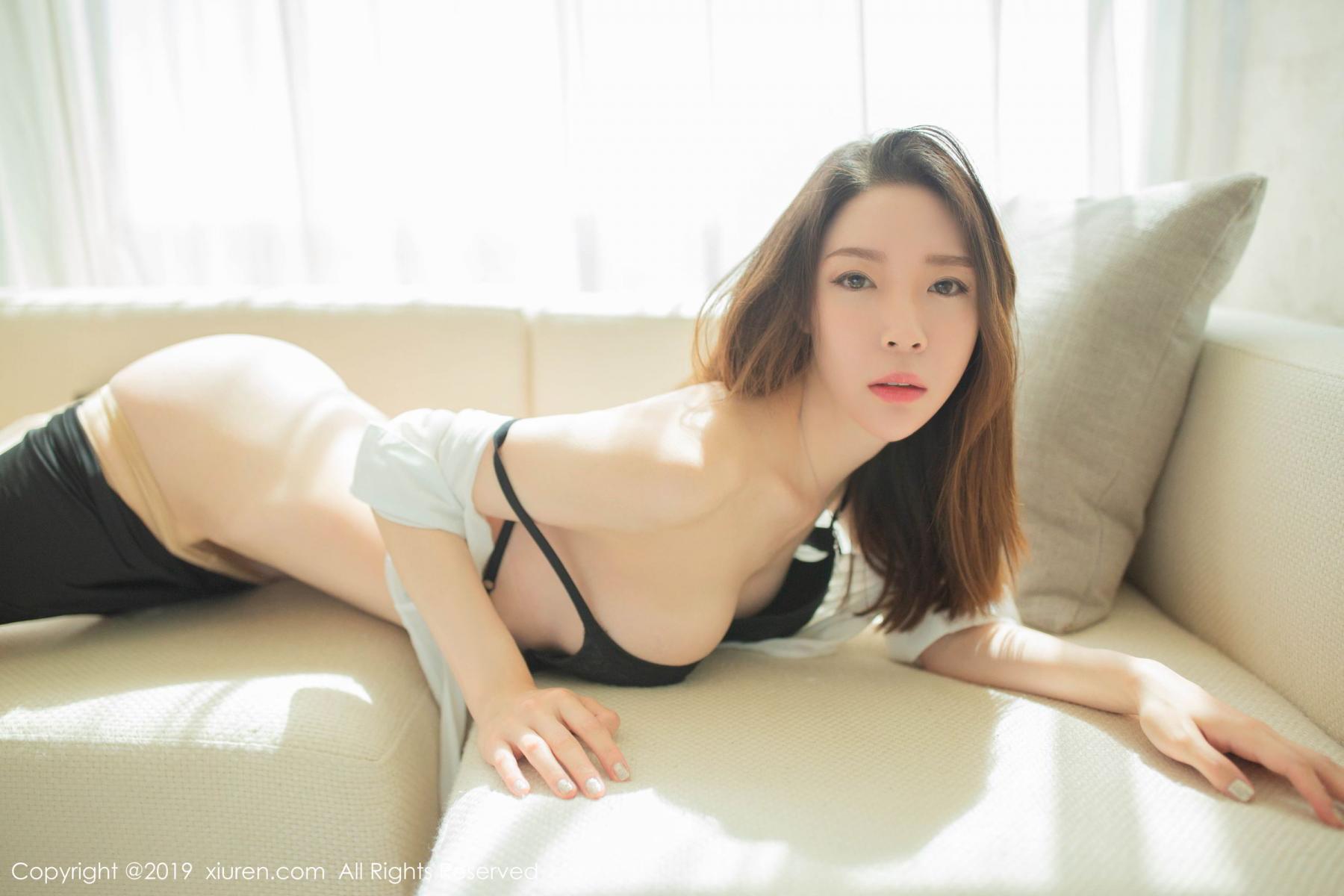 [XiuRen] Vol.1645 Meng Xin Yue 54P, Meng Xin Yue, Underwear, Uniform, Xiuren