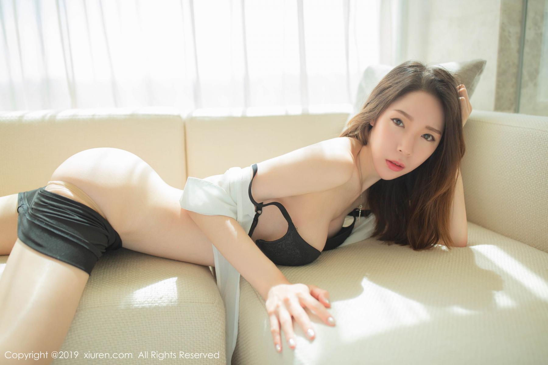 [XiuRen] Vol.1645 Meng Xin Yue 56P, Meng Xin Yue, Underwear, Uniform, Xiuren