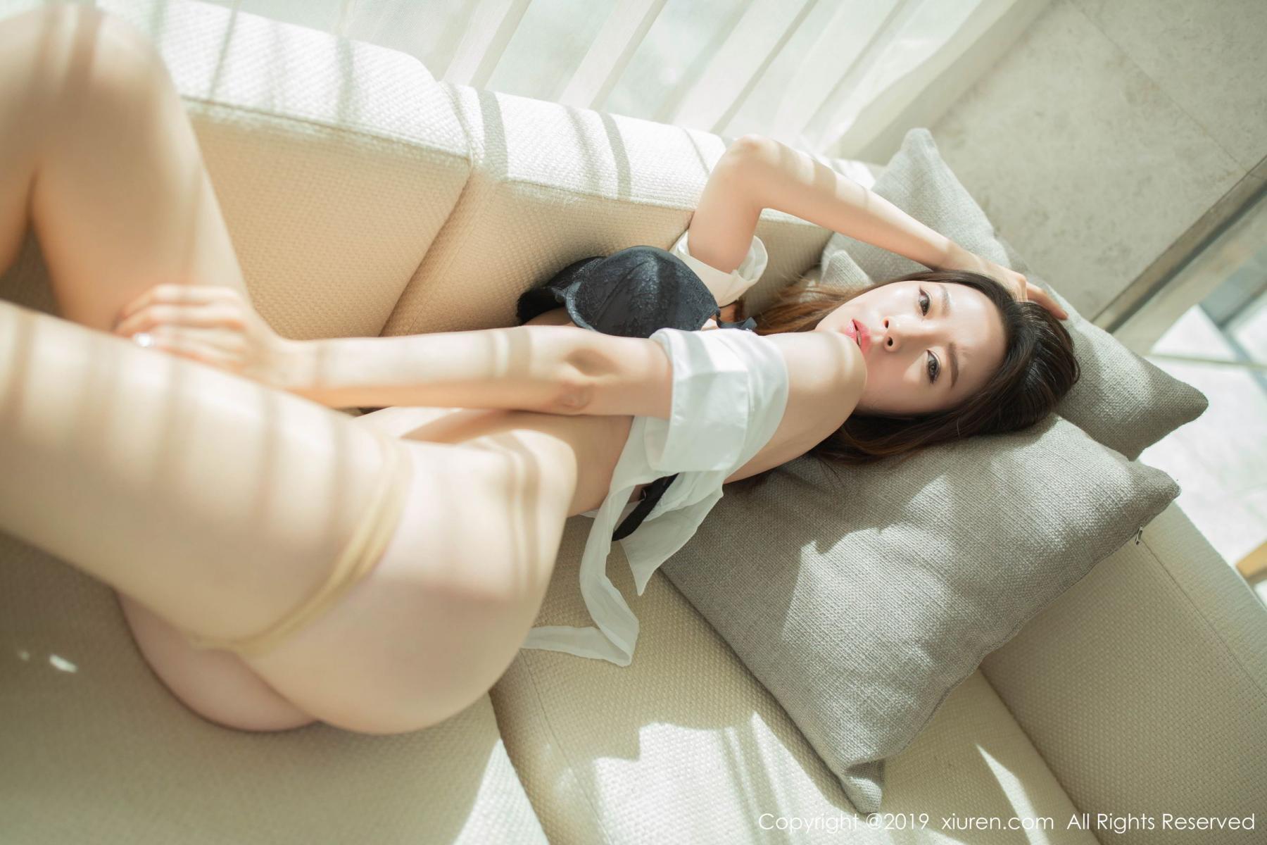[XiuRen] Vol.1645 Meng Xin Yue 59P, Meng Xin Yue, Underwear, Uniform, Xiuren