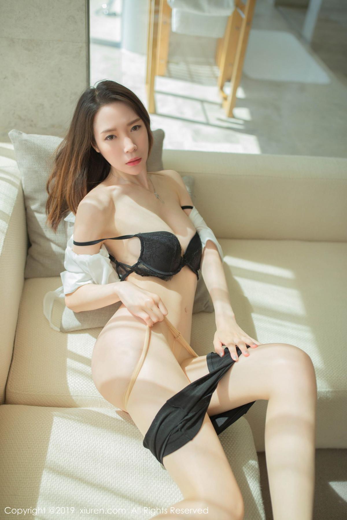 [XiuRen] Vol.1645 Meng Xin Yue 60P, Meng Xin Yue, Underwear, Uniform, Xiuren