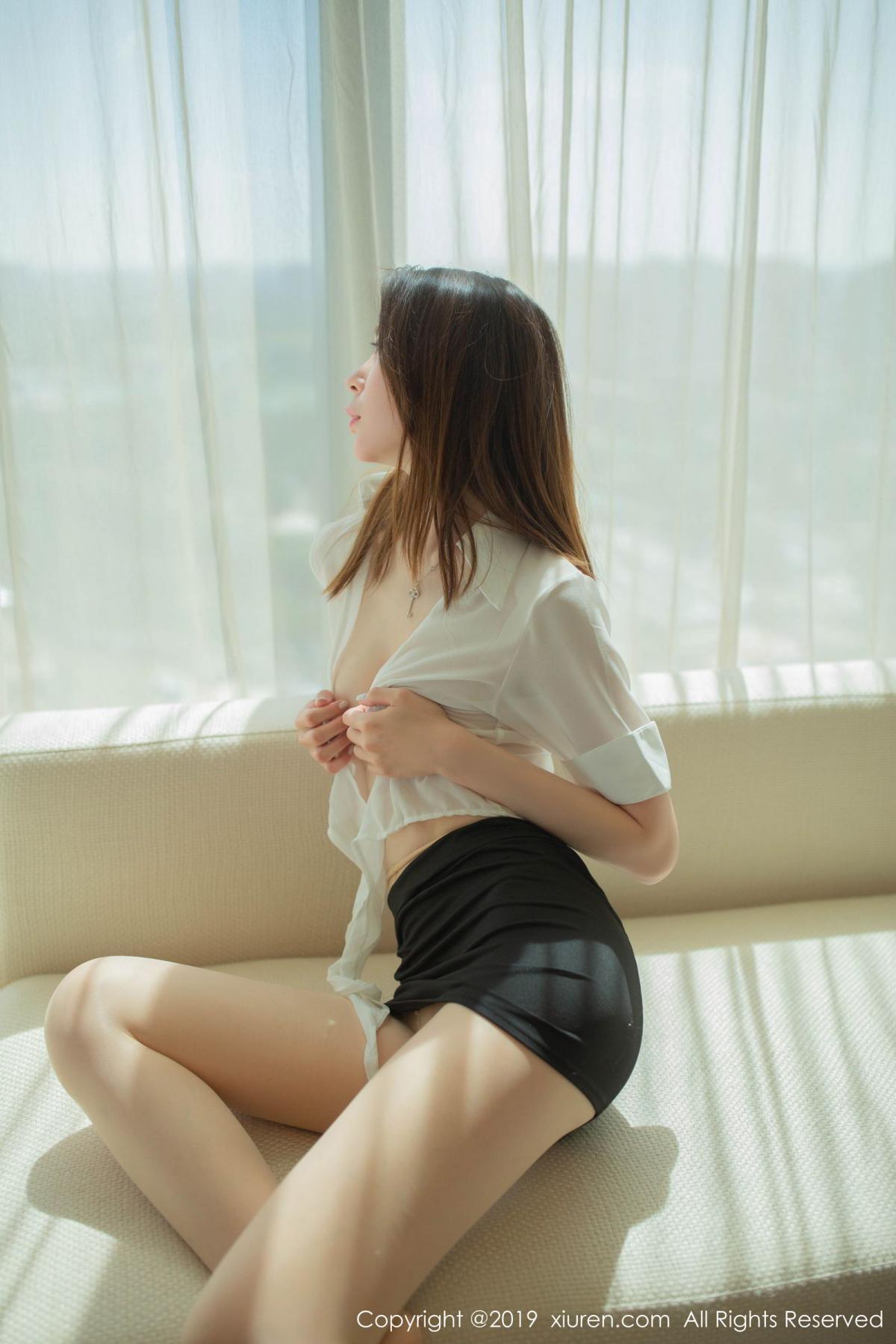 [XiuRen] Vol.1645 Meng Xin Yue 65P, Meng Xin Yue, Underwear, Uniform, Xiuren