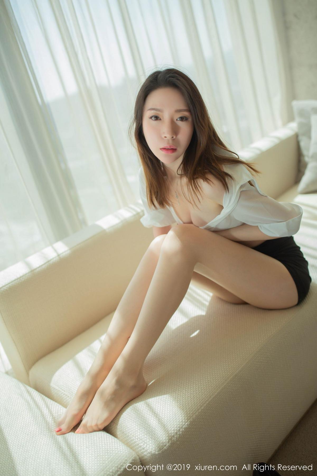 [XiuRen] Vol.1645 Meng Xin Yue 70P, Meng Xin Yue, Underwear, Uniform, Xiuren