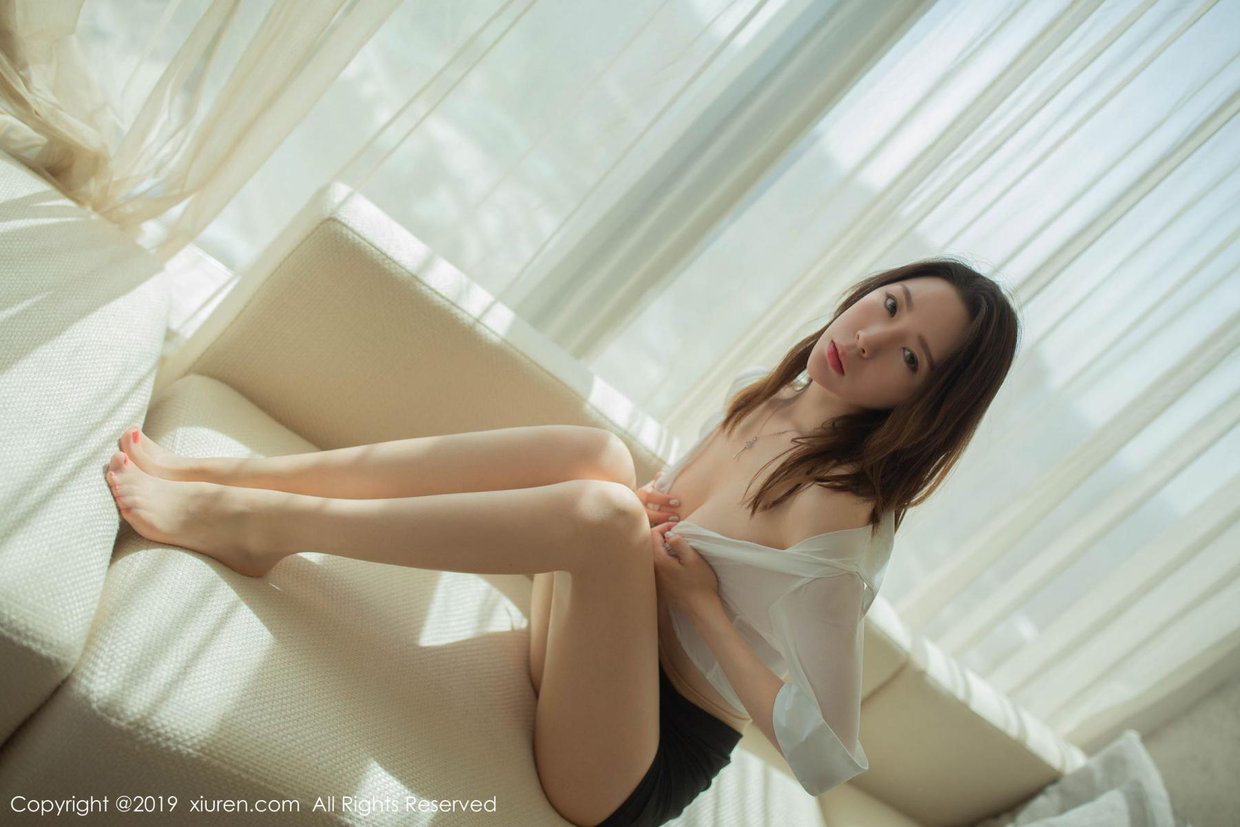 [XiuRen] Vol.1645 Meng Xin Yue 73P, Meng Xin Yue, Underwear, Uniform, Xiuren