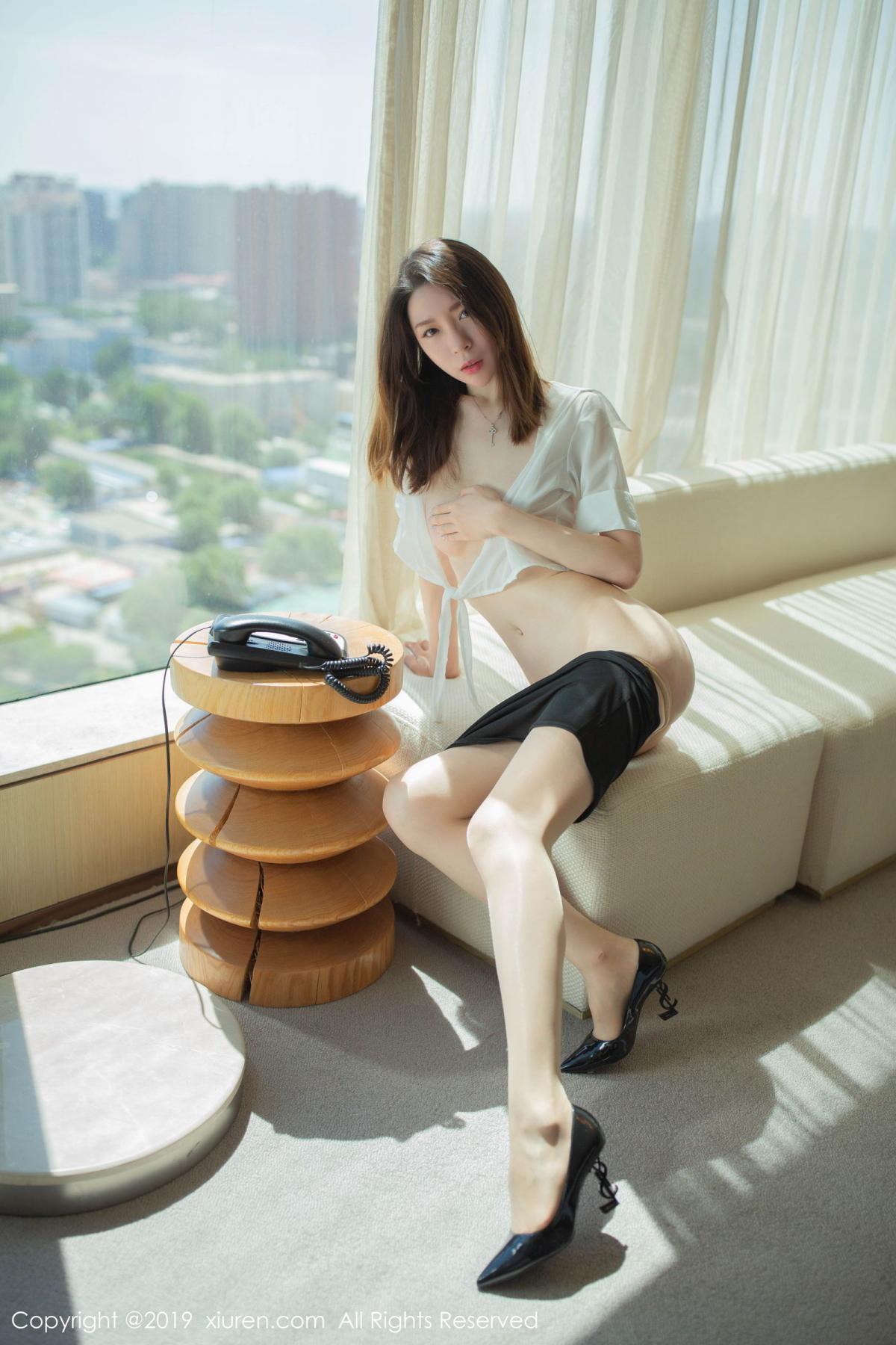 [XiuRen] Vol.1645 Meng Xin Yue 8P, Meng Xin Yue, Underwear, Uniform, Xiuren