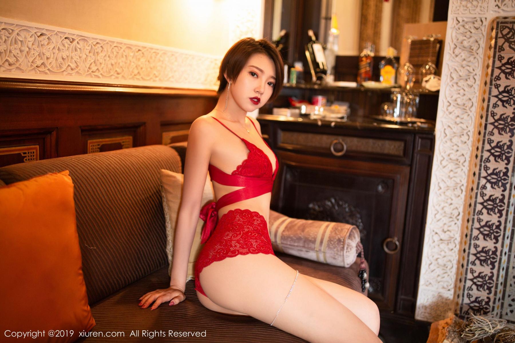 [XiuRen] Vol.1646 Feng Mu Mu 14P, Feng Mu Mu, Slim, Underwear, Xiuren
