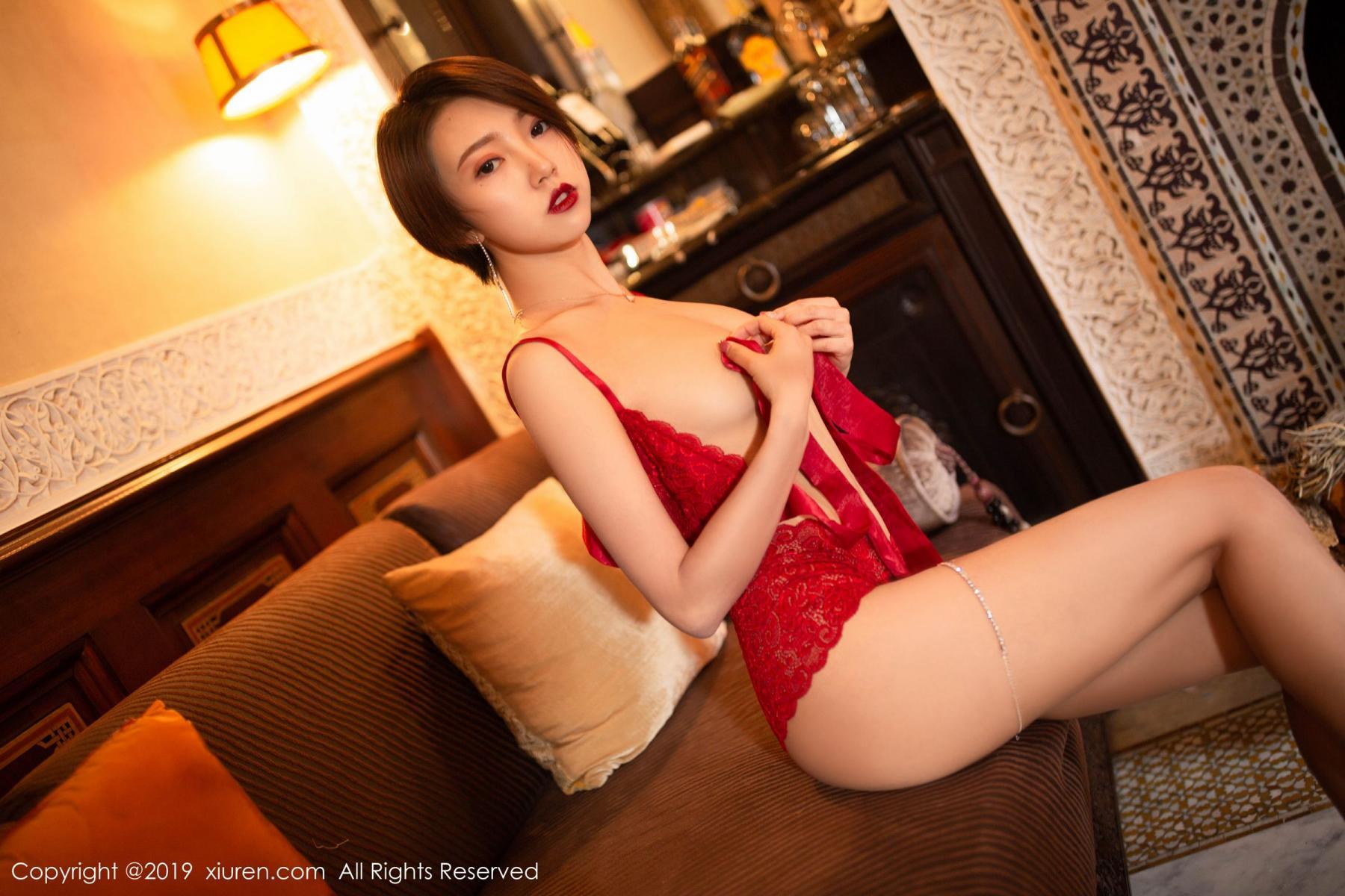 [XiuRen] Vol.1646 Feng Mu Mu 17P, Feng Mu Mu, Slim, Underwear, Xiuren