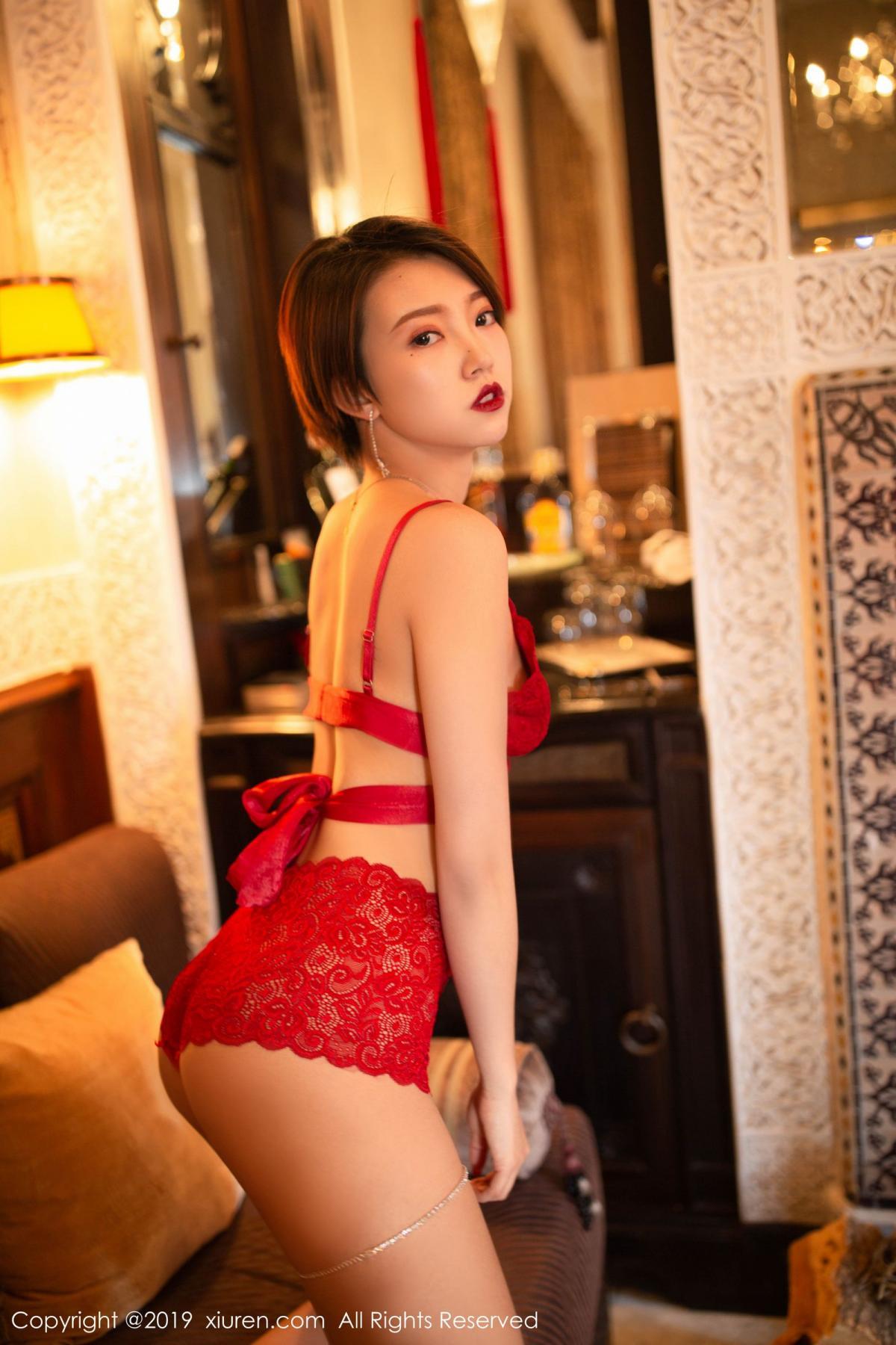 [XiuRen] Vol.1646 Feng Mu Mu 1P, Feng Mu Mu, Slim, Underwear, Xiuren