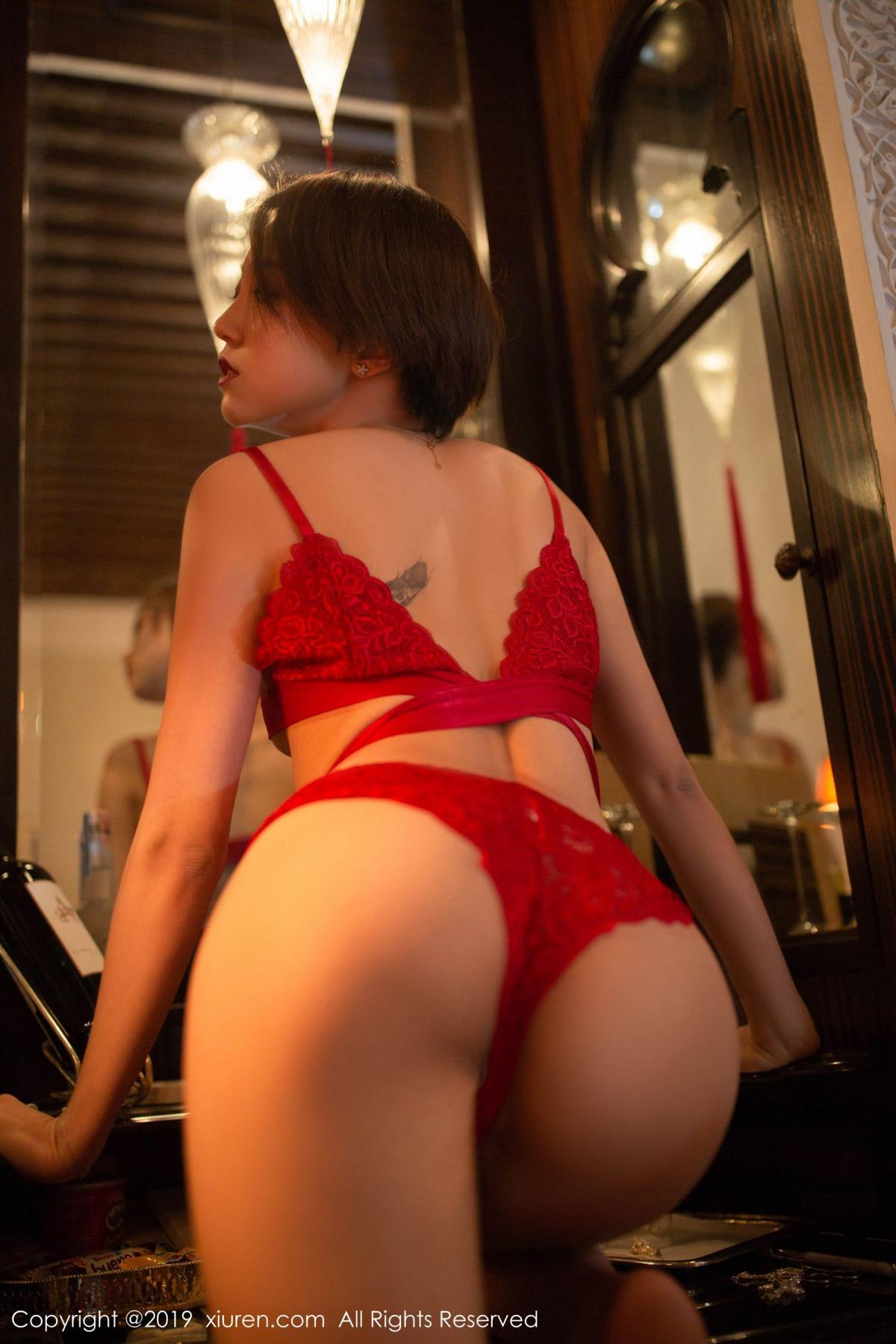 [XiuRen] Vol.1646 Feng Mu Mu 20P, Feng Mu Mu, Slim, Underwear, Xiuren