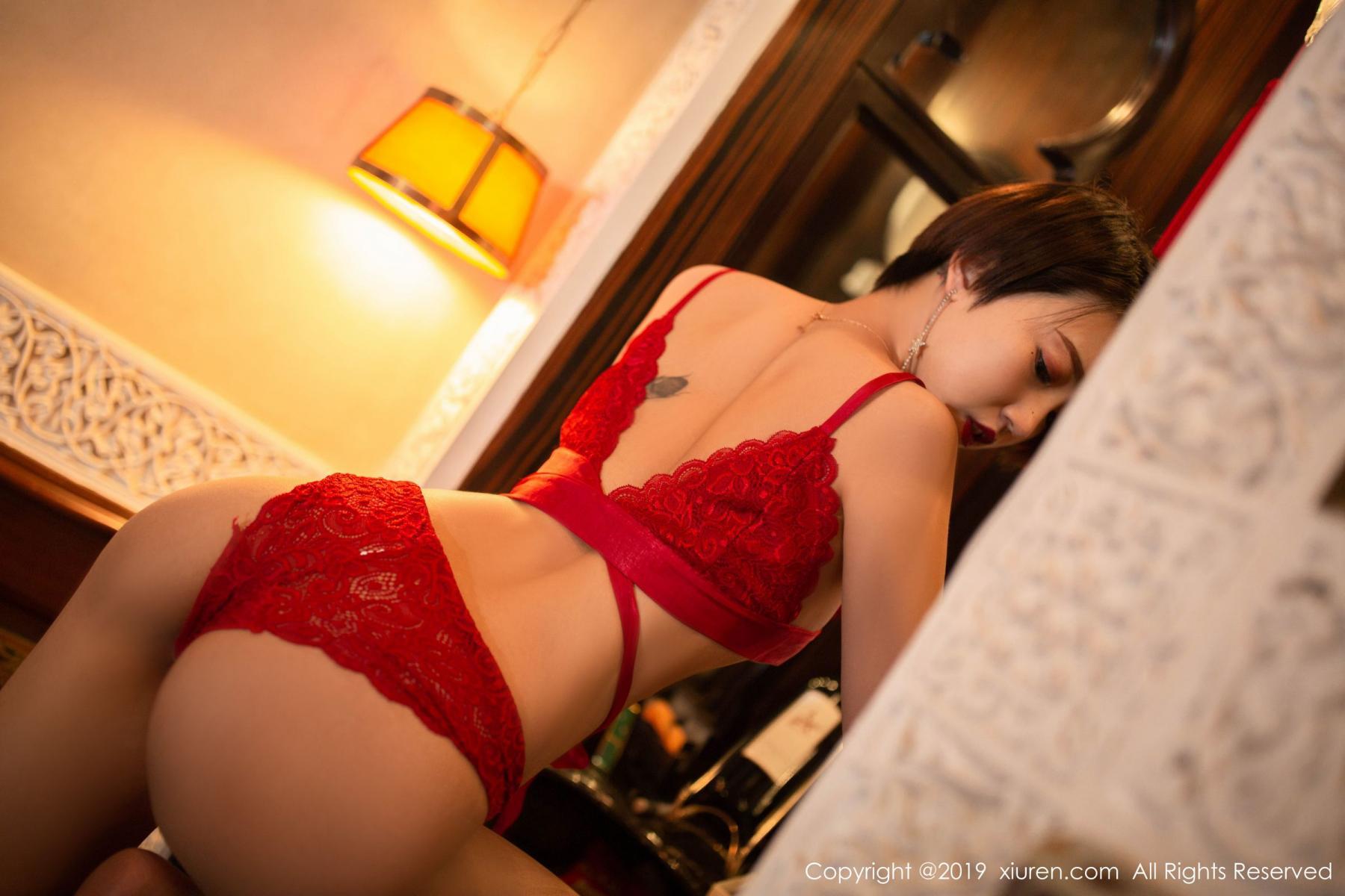 [XiuRen] Vol.1646 Feng Mu Mu 24P, Feng Mu Mu, Slim, Underwear, Xiuren