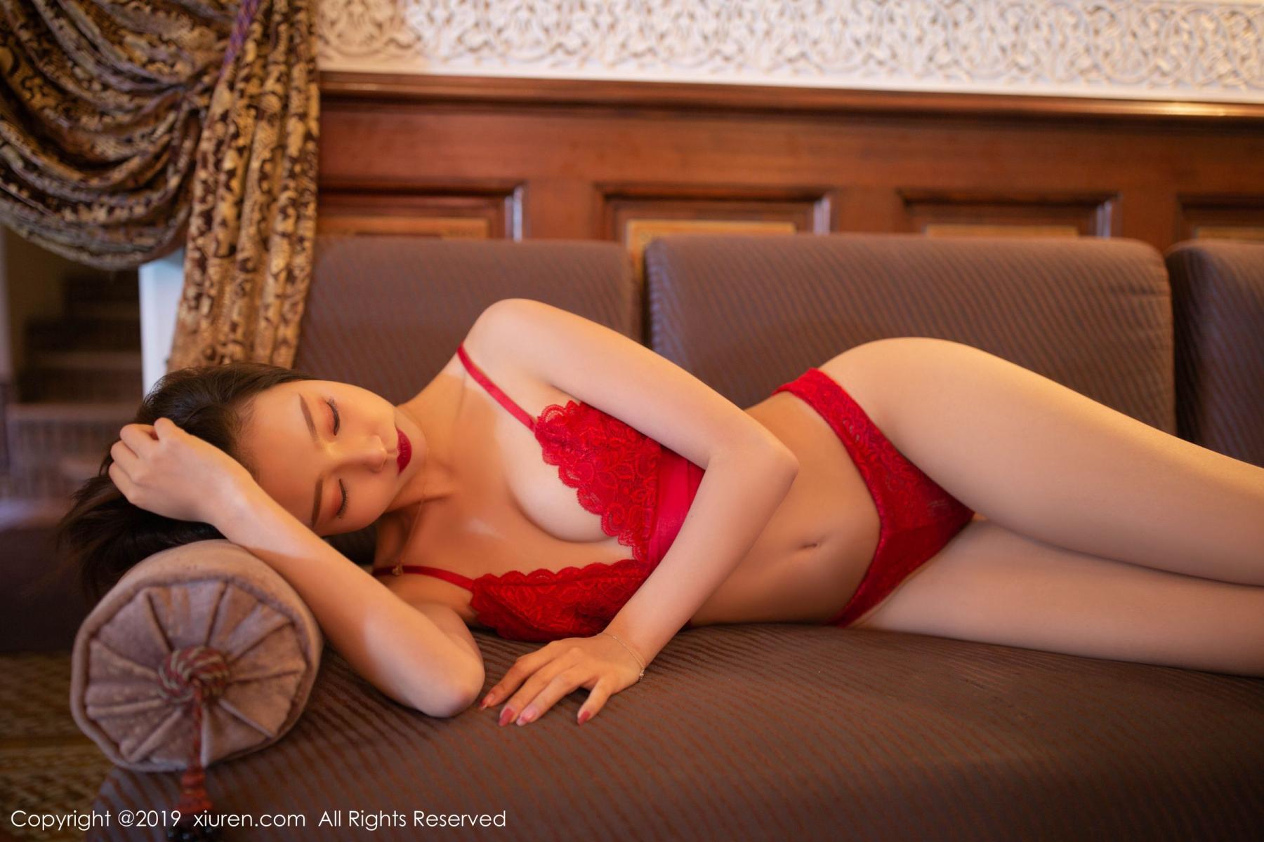 [XiuRen] Vol.1646 Feng Mu Mu 27P, Feng Mu Mu, Slim, Underwear, Xiuren